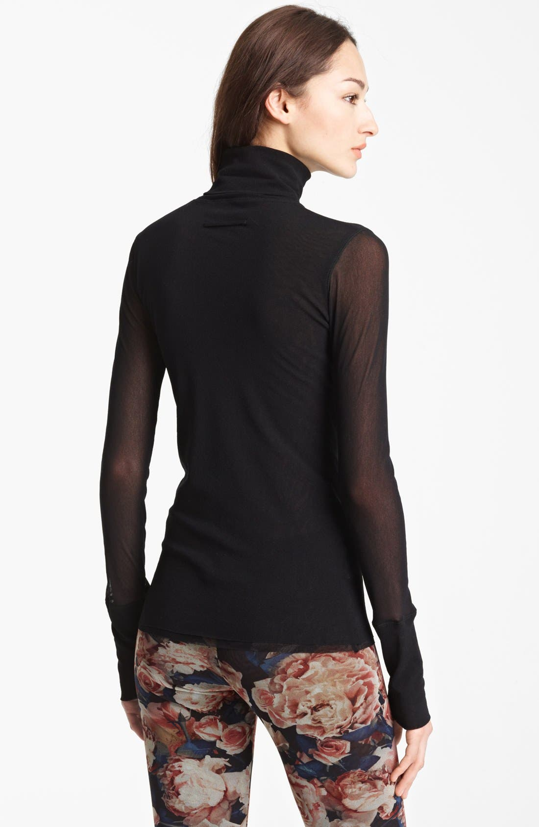 Alternate Image 2  - Jean Paul Gaultier Fuzzi Tulle Turtleneck