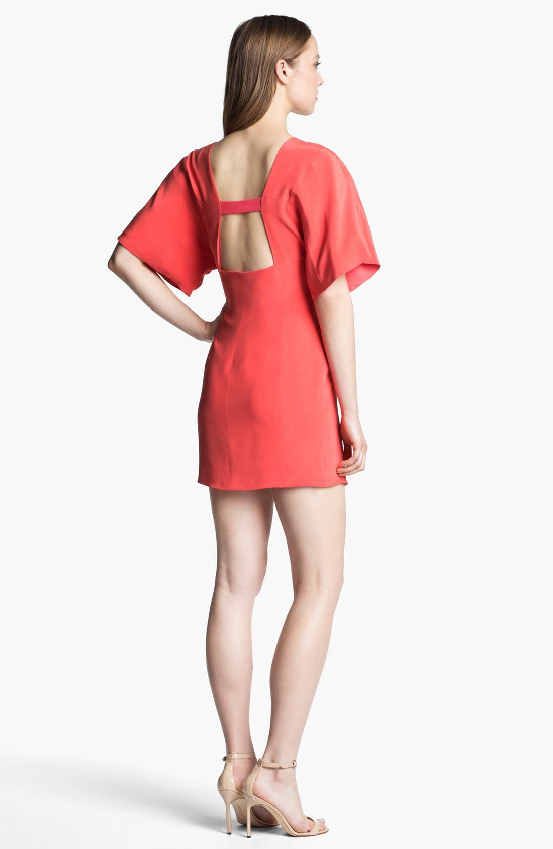 Alternate Image 2  - Rebecca Minkoff 'Luis' Silk Sheath Dress