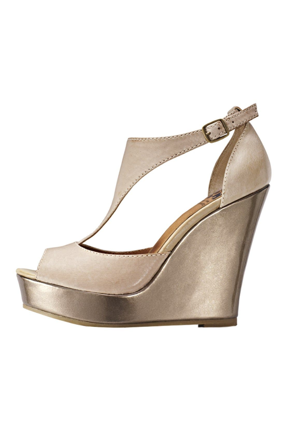 Alternate Image 6  - BC Footwear 'Lickety Split' Wedge Sandal