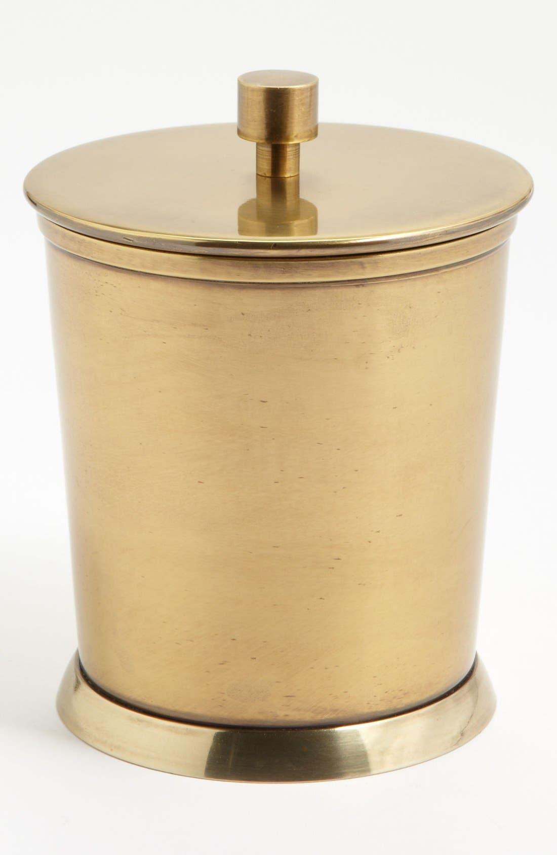 Studio 'Wallingford' Covered Jar,                         Main,                         color, Brass