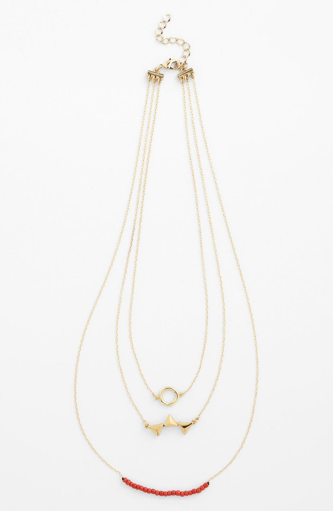 Alternate Image 1 Selected - Carbon Copy Multistrand Necklace