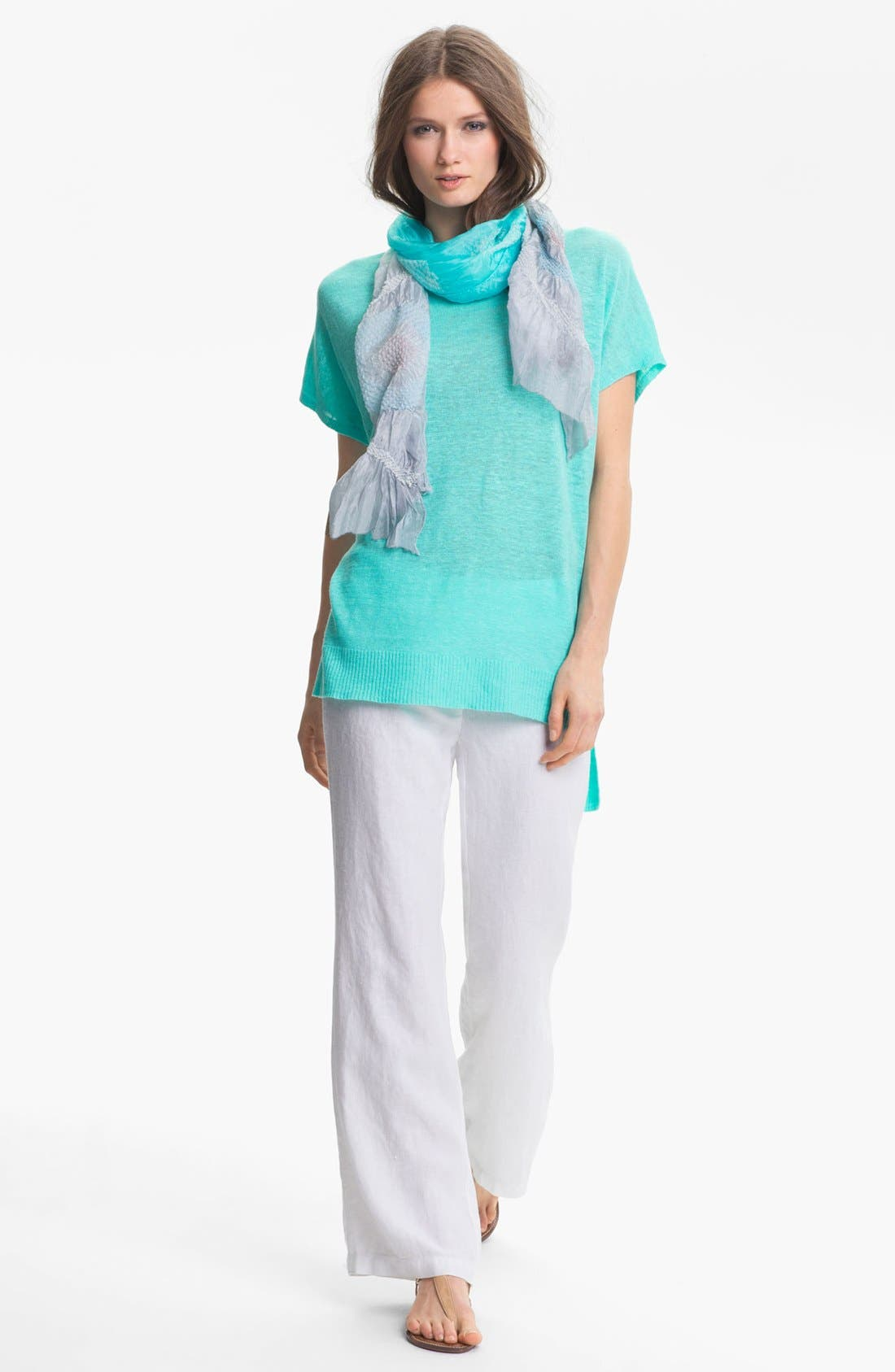 Alternate Image 4  - Eileen Fisher 'Daydream' Silk Shibori Scarf