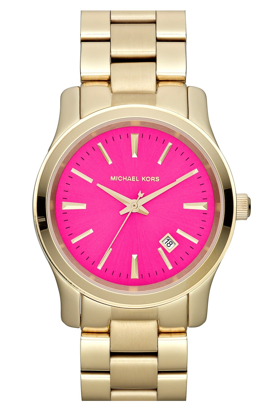 Alternate Image 1 Selected - Michael Kors 'Jet Set Sport' Watch, 38mm