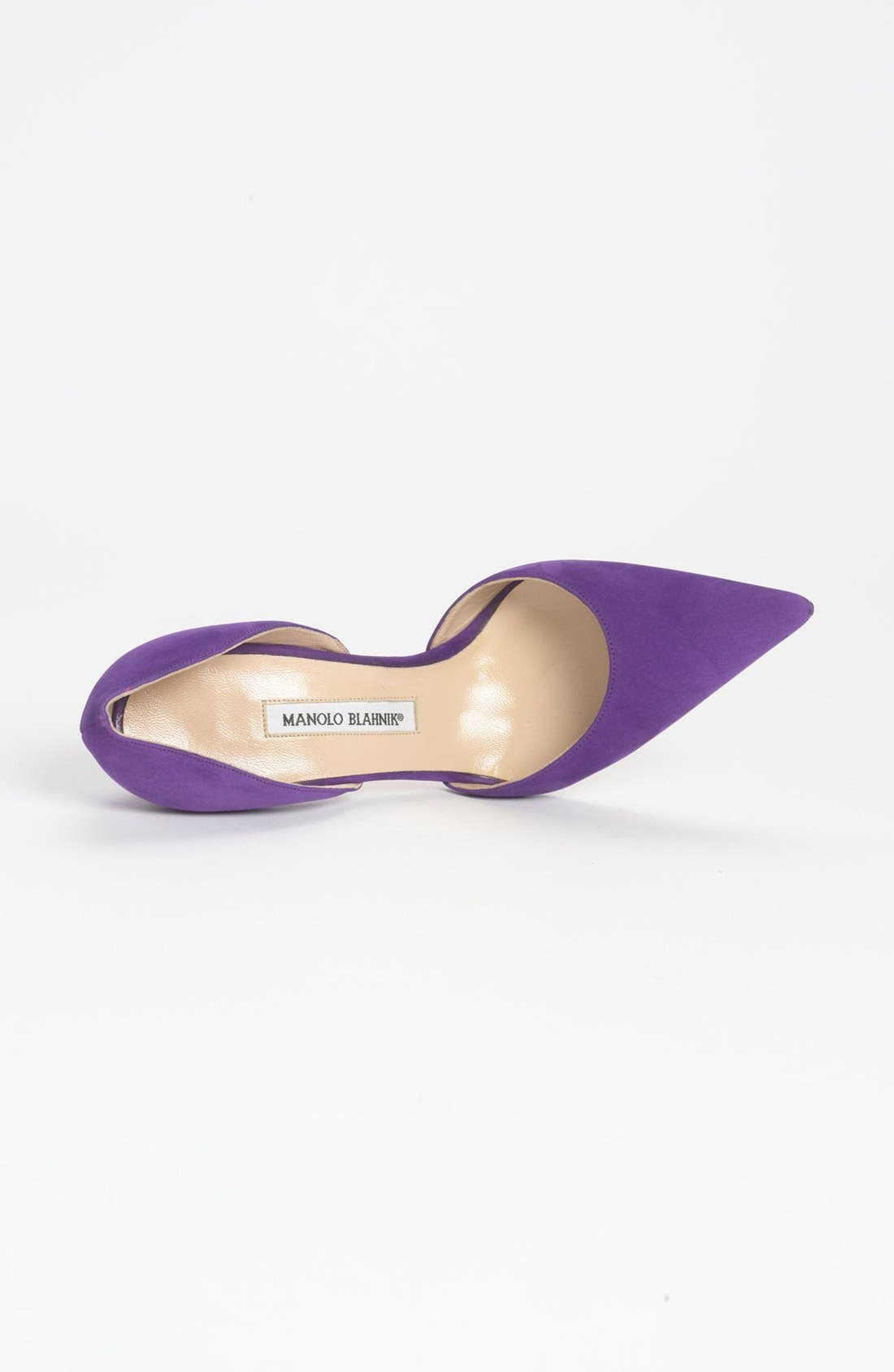 Alternate Image 4  - Manolo Blahnik 'Tayler' d'Orsay Pump