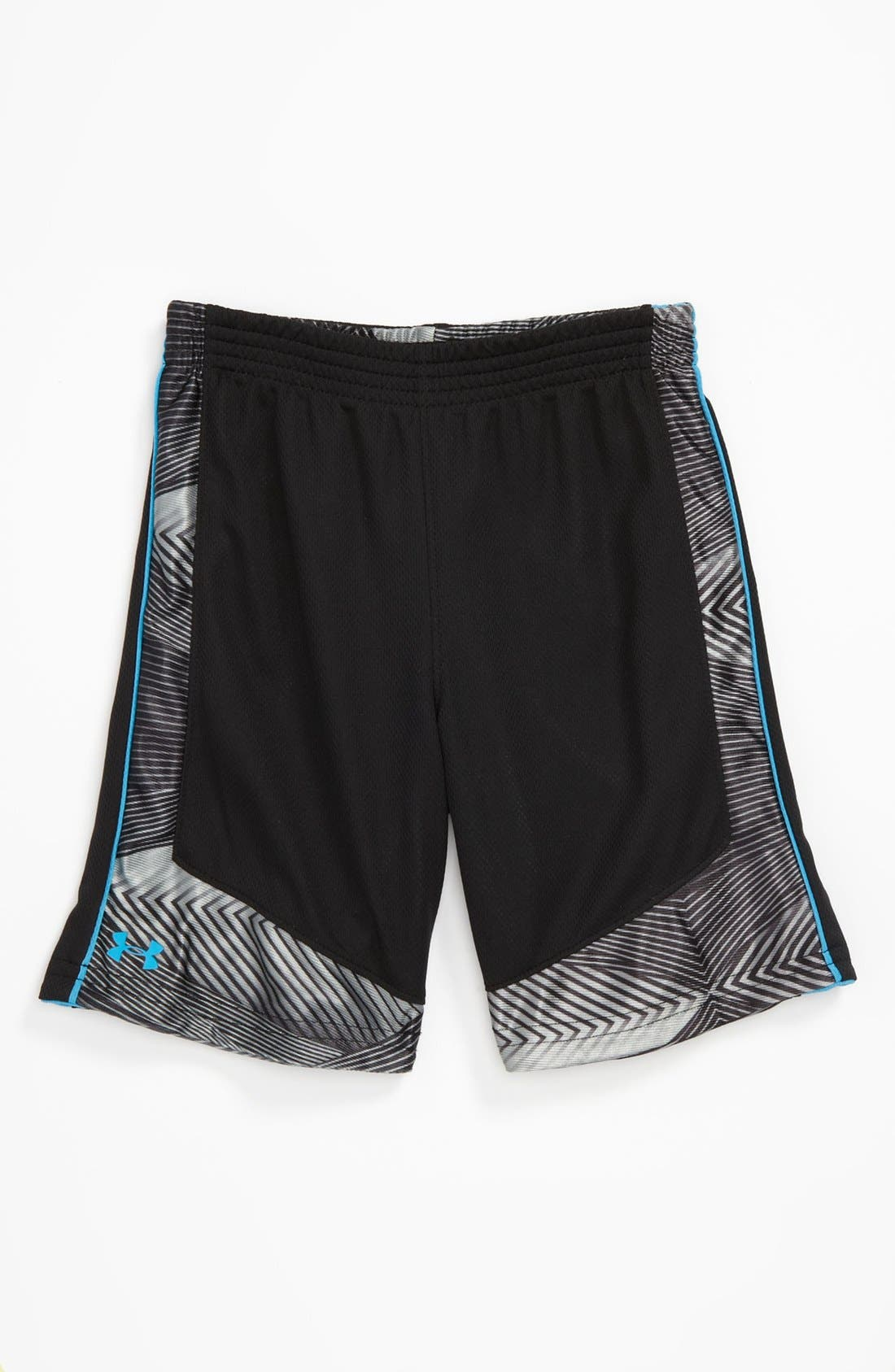 Alternate Image 1 Selected - Under Armour HeatGear® Reversible Shorts (Toddler)