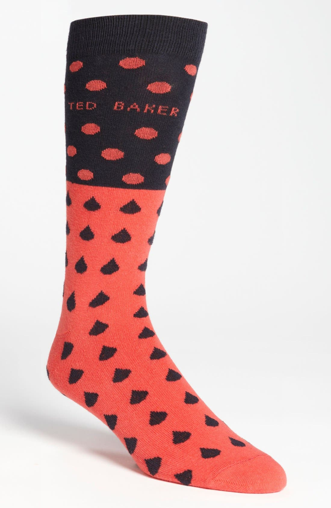 Alternate Image 1 Selected - Ted Baker London Raindrop Socks