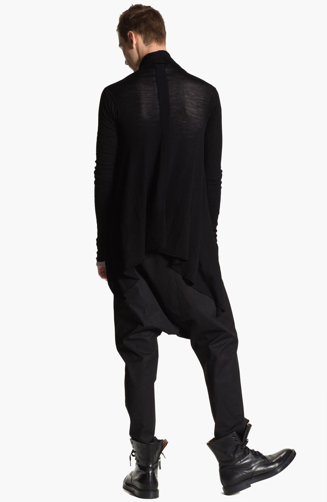 Alternate Image 5  - Rick Owens 'Island' Open Shawl Collar Sweater