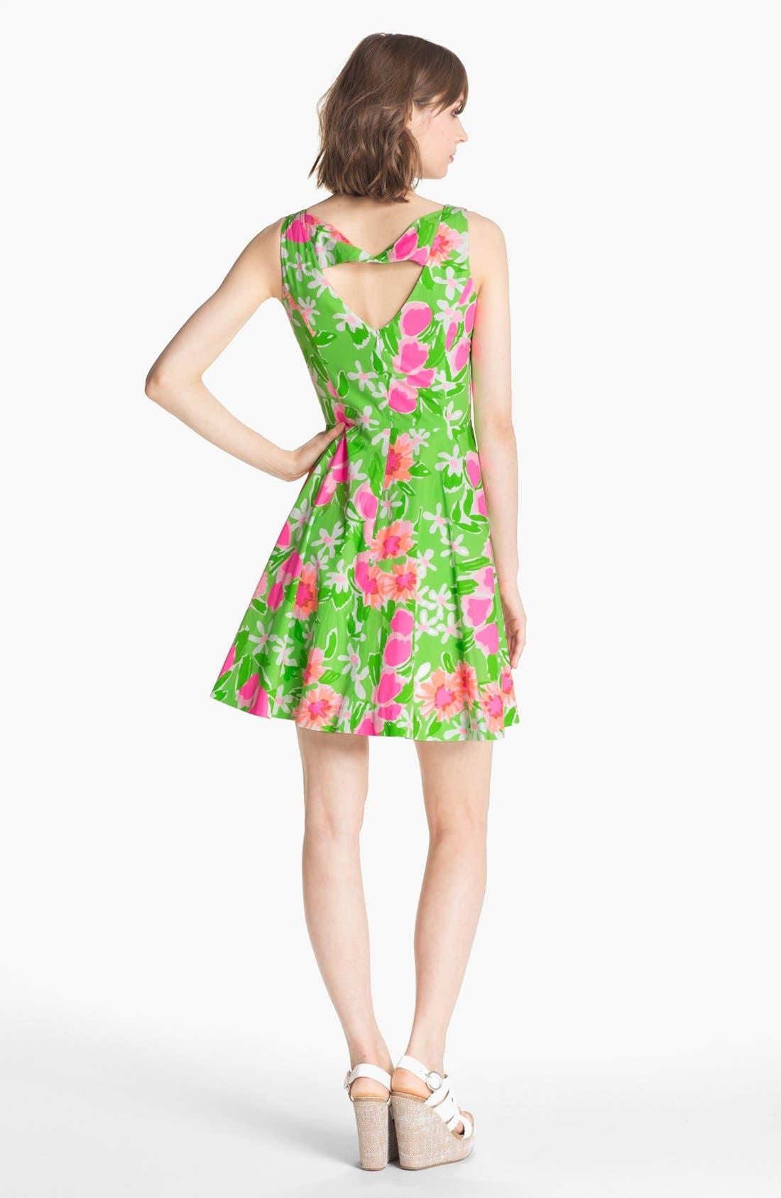 Alternate Image 2  - Lilly Pulitzer® 'Freja' Print Fit & Flare Dress