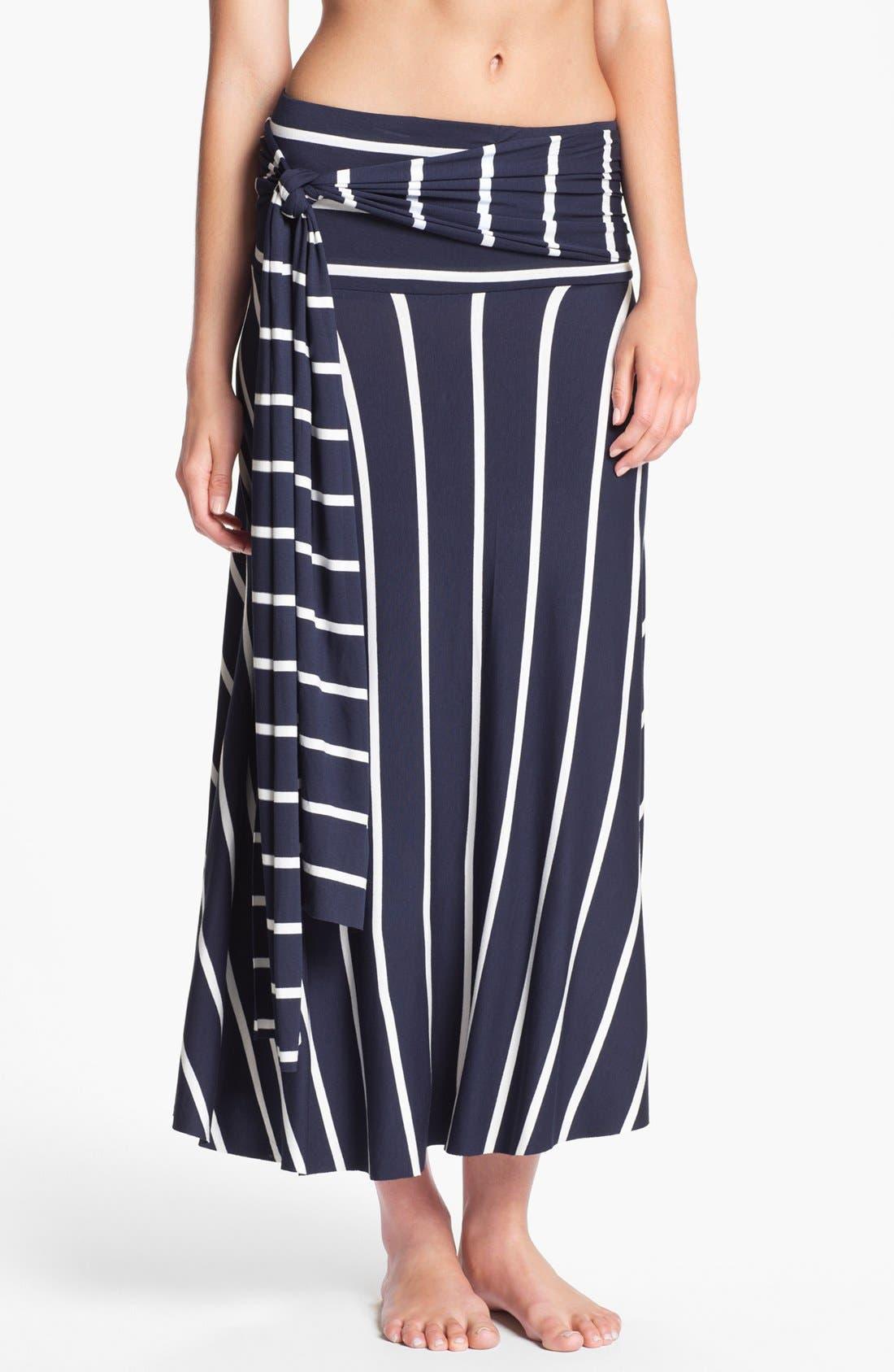 Alternate Image 3  - Elan Stripe Convertible Cover-Up Dress