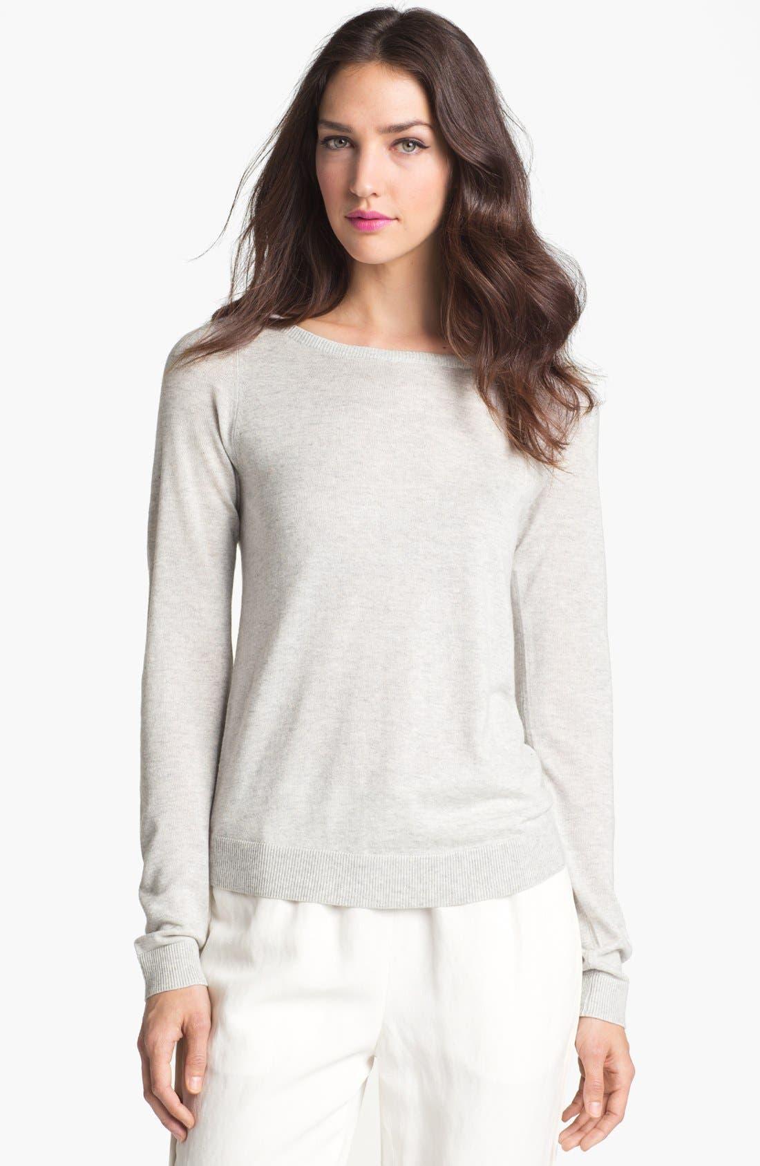 Alternate Image 1 Selected - Diane von Furstenberg 'New Noa' Silk & Cashmere Sweater
