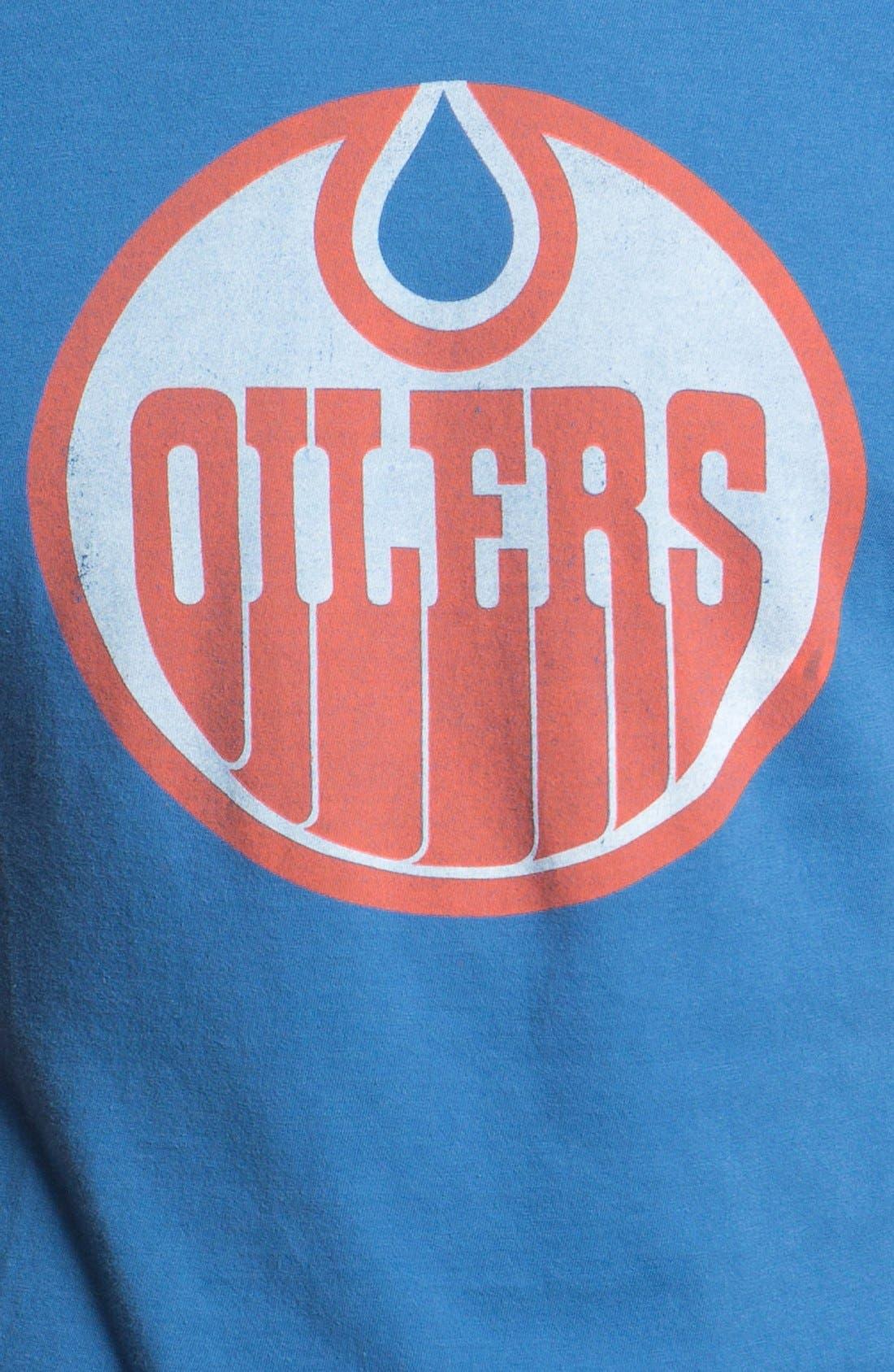Alternate Image 3  - Red Jacket 'Oilers - Brass Tacks' T-Shirt