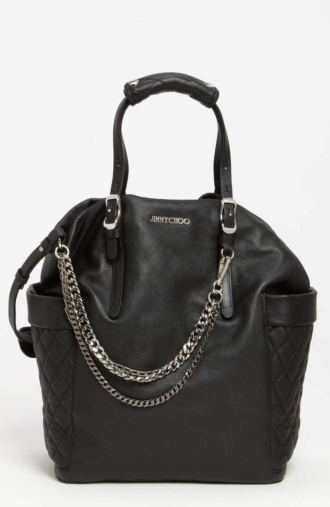Main Image - Jimmy Choo 'Blare' Leather Tote