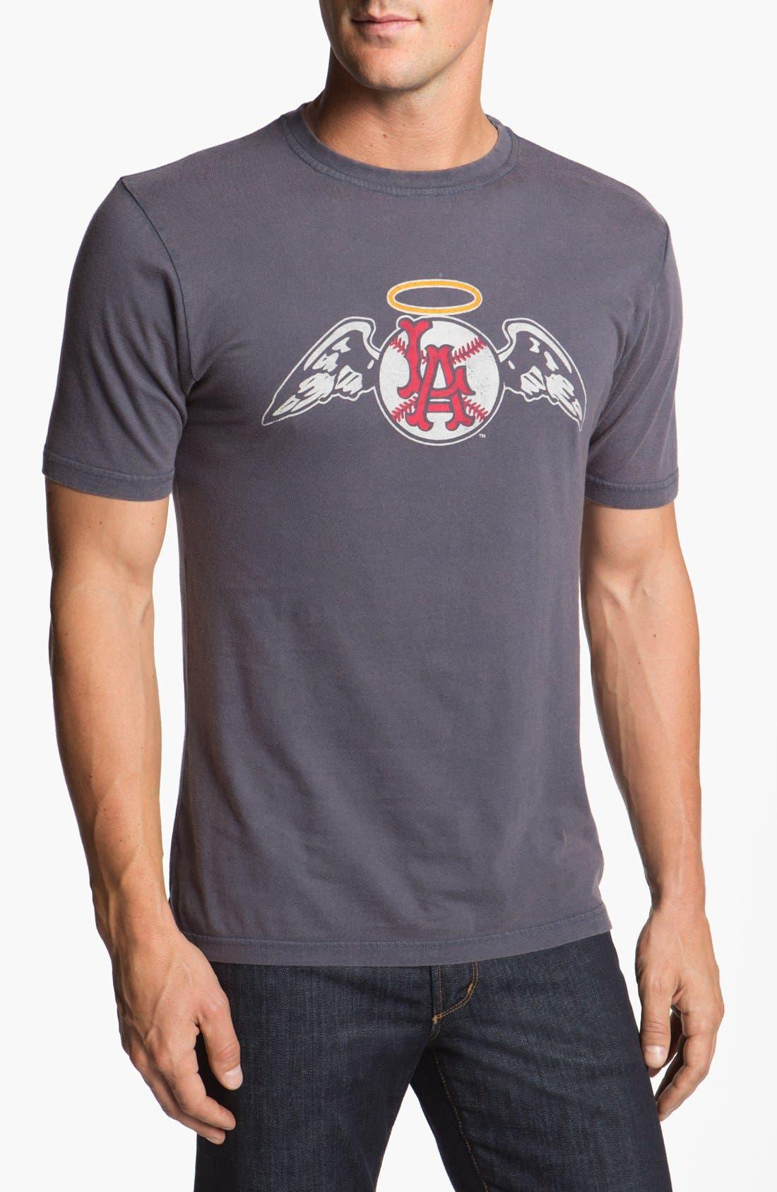'Los Angeles Angels' Trim Fit T-Shirt,                             Main thumbnail 1, color,                             Navy - Angels