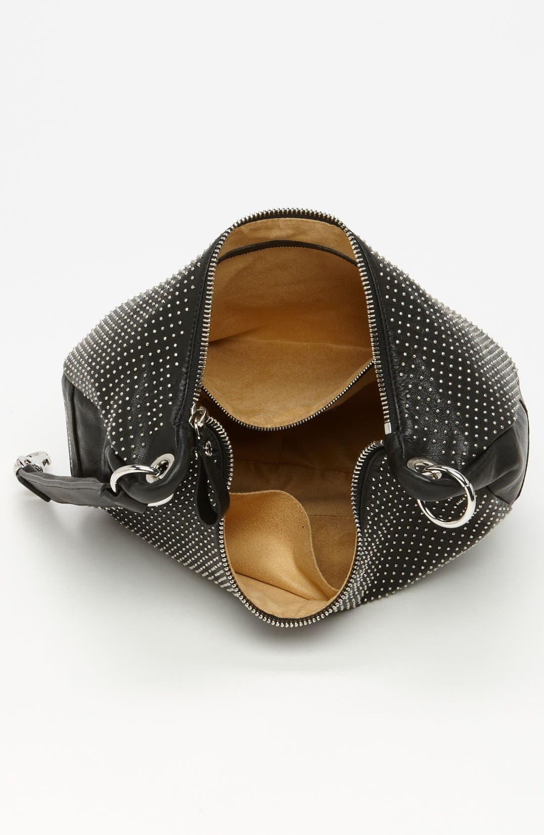 Alternate Image 3  - Jimmy Choo 'Solar - Small' Studded Leather Hobo