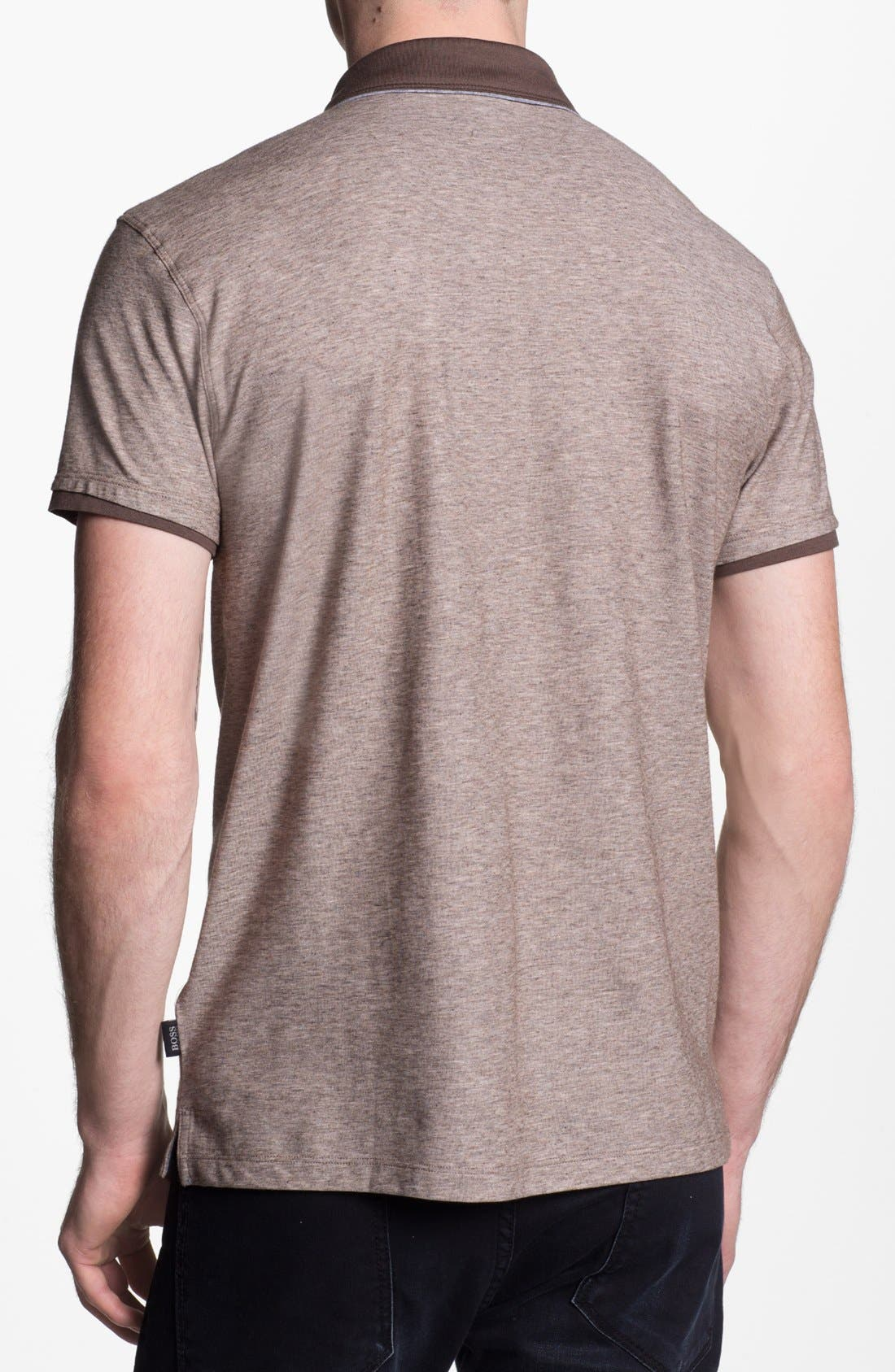 Alternate Image 2  - BOSS HUGO BOSS 'Arpino' Slim Fit Polo