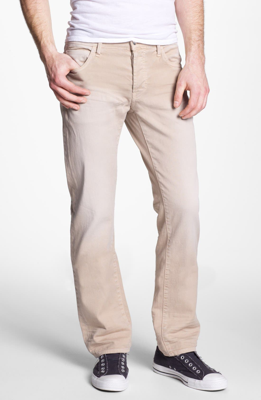 Alternate Image 2  - Koral 'Los Angeles' Slim Leg Jeans (Tan)