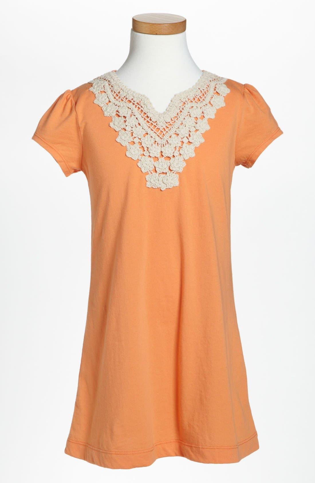 Alternate Image 1 Selected - Tucker + Tate 'Bali' Knit Dress (Little Girls)