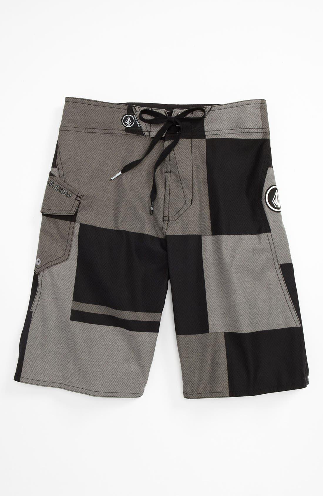 Main Image - Volcom 'Maguro' Colorblocked Board Shorts (Big Boys)