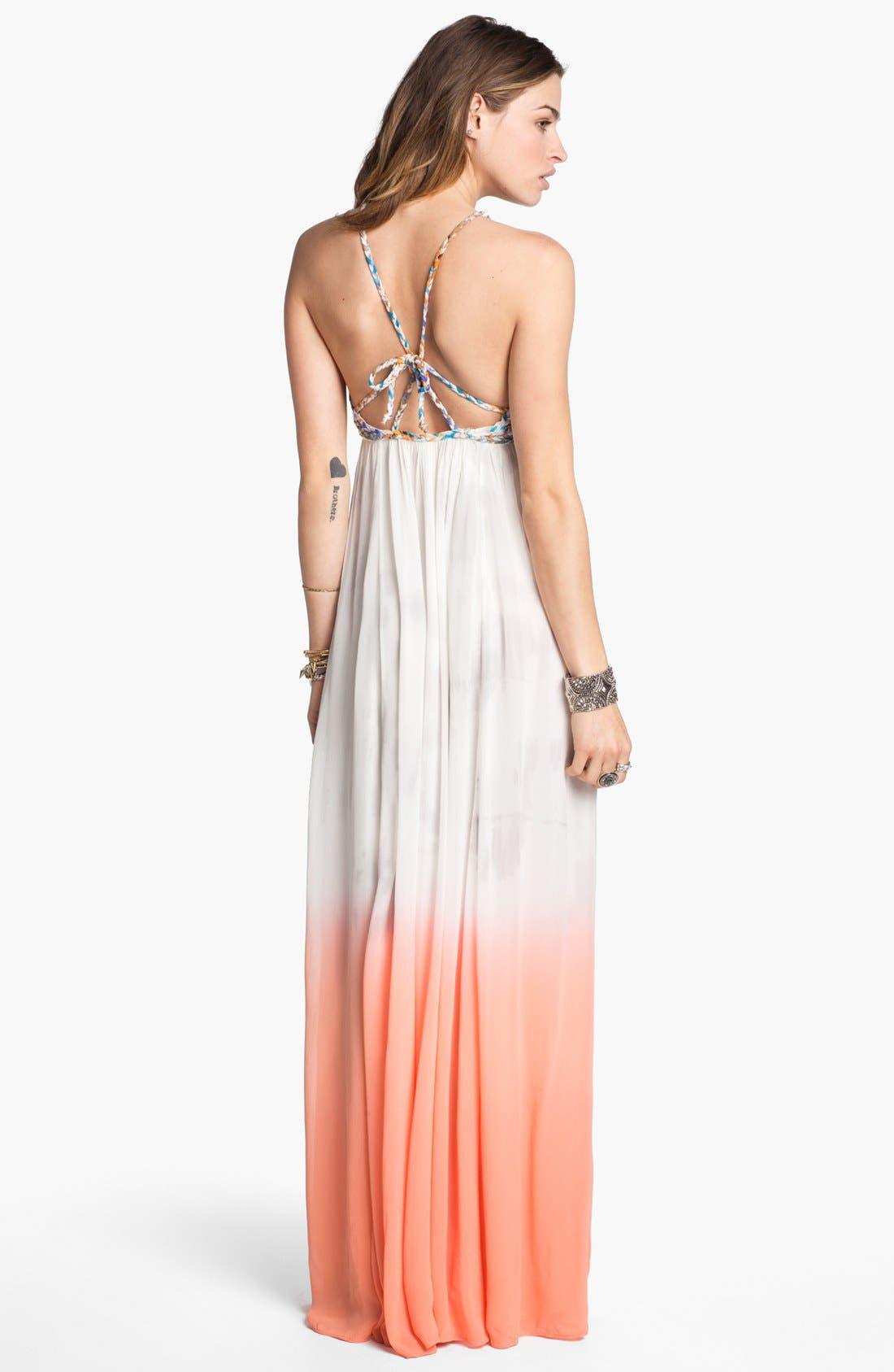 Alternate Image 2  - Free People 'Snake Goddess' Maxi Dress