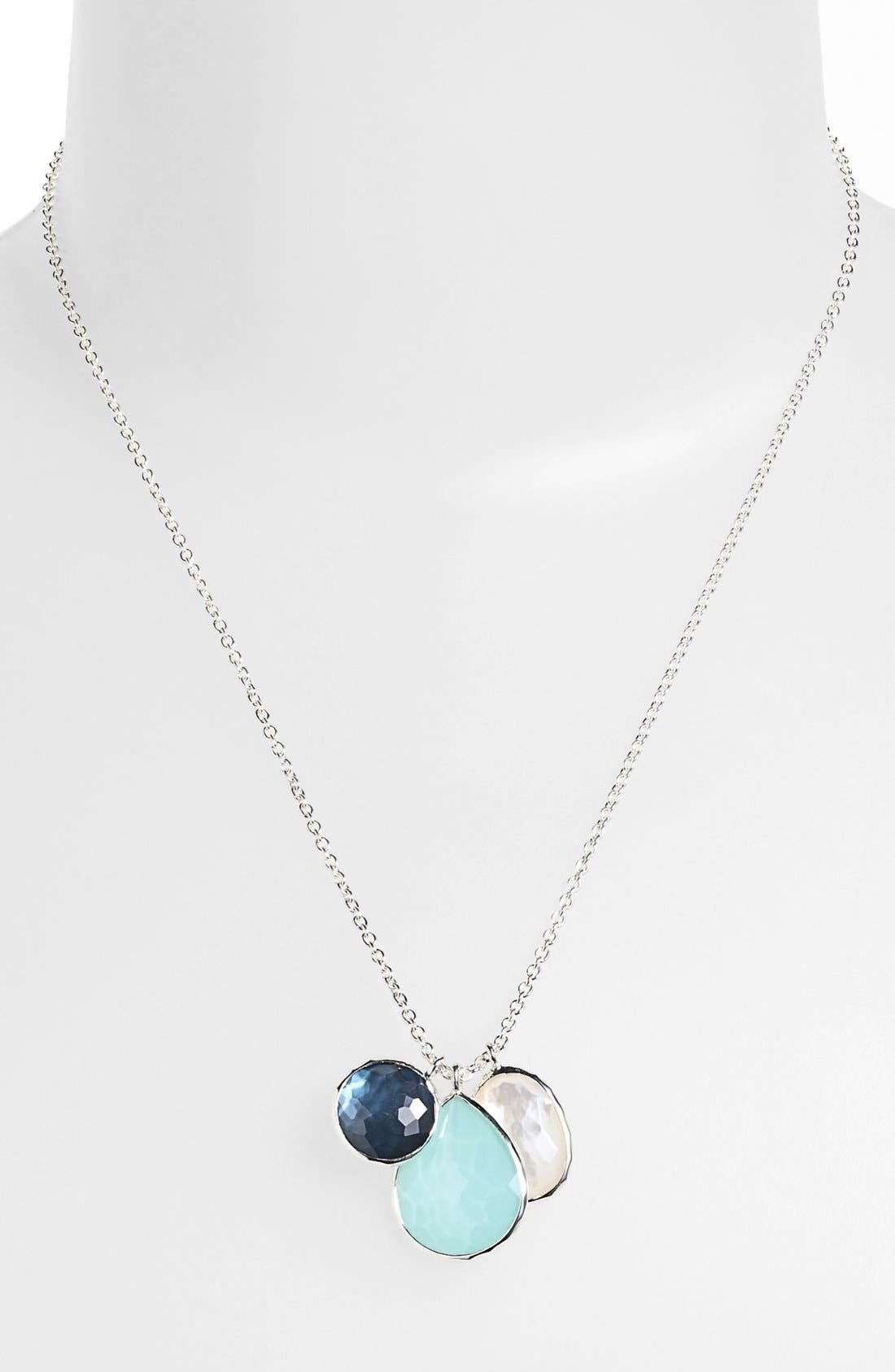 Alternate Image 1 Selected - Ippolita 'Wonderland' Triple Charm Necklace