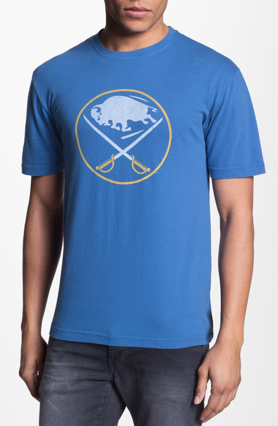 Alternate Image 1 Selected - Red Jacket 'Buffalo Sabres - Brass Tack' T-Shirt