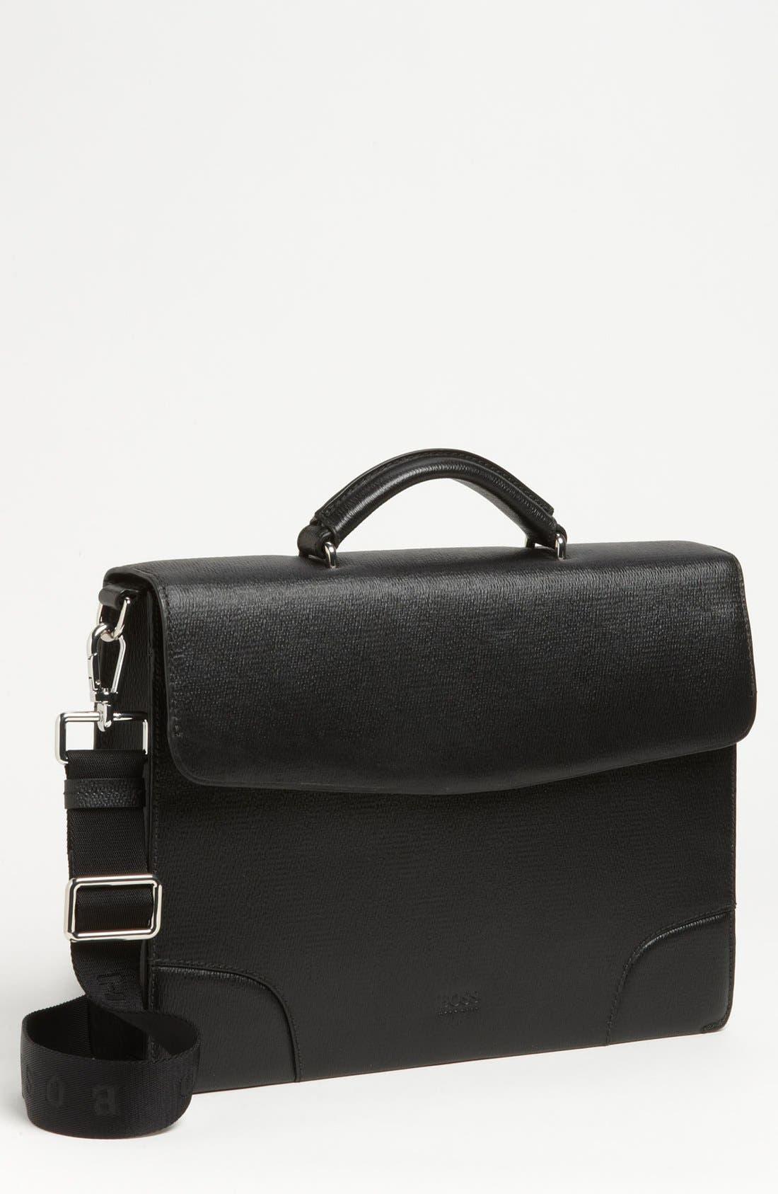 Alternate Image 1 Selected - BOSS Black 'Lamin' Briefcase