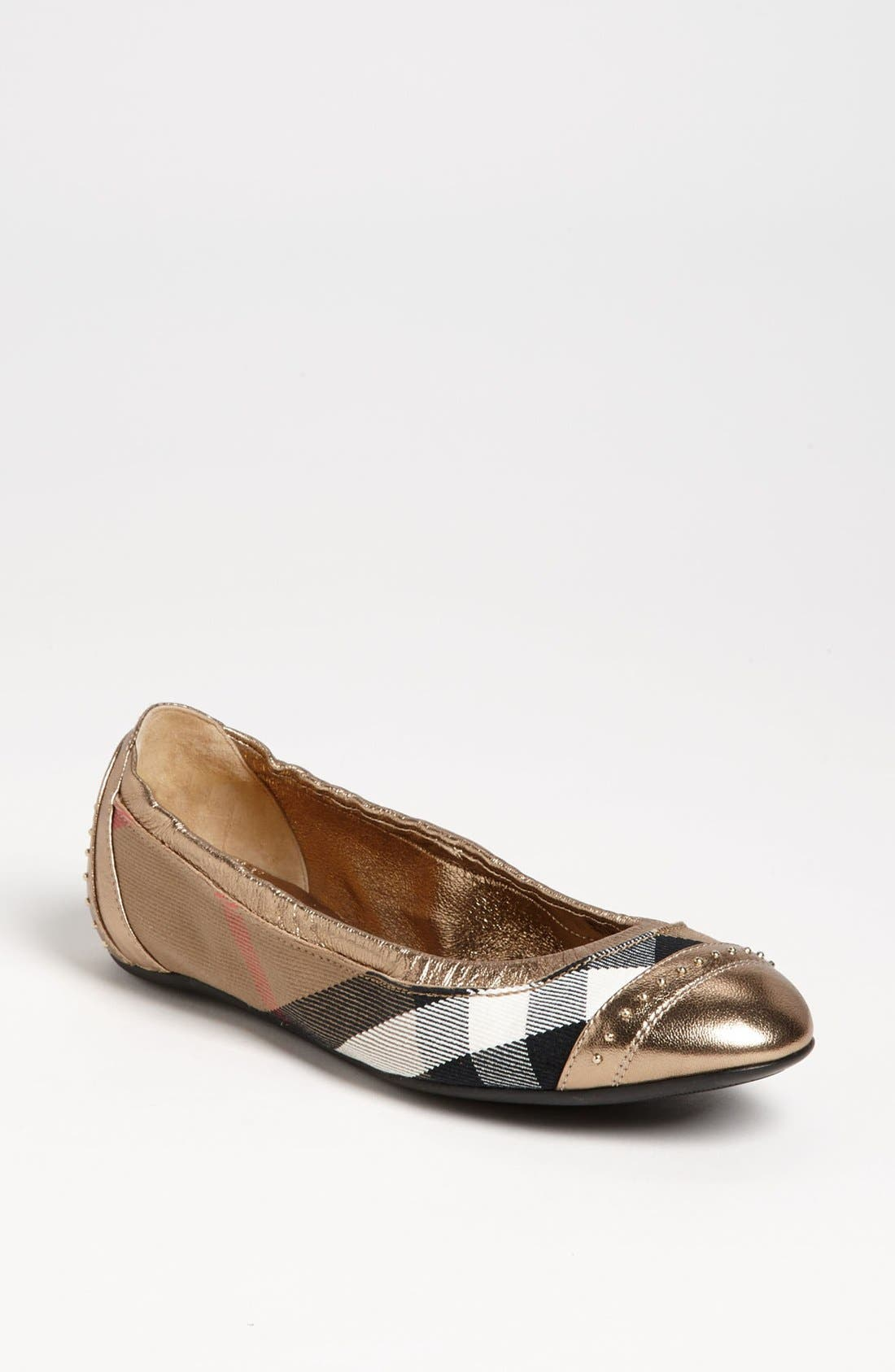 Alternate Image 1 Selected - Burberry 'Southwark' Flat