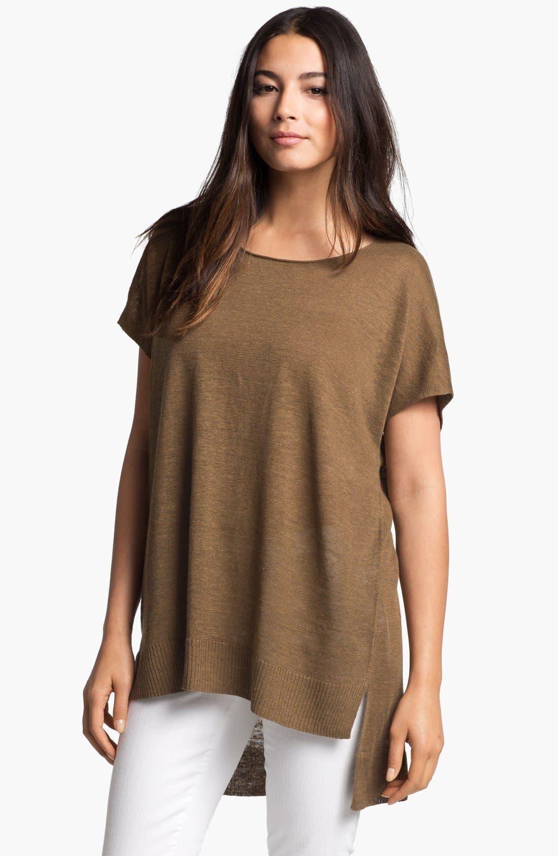 Alternate Image 1 Selected - Eileen Fisher Scoop Neck Dolman Sleeve Tunic