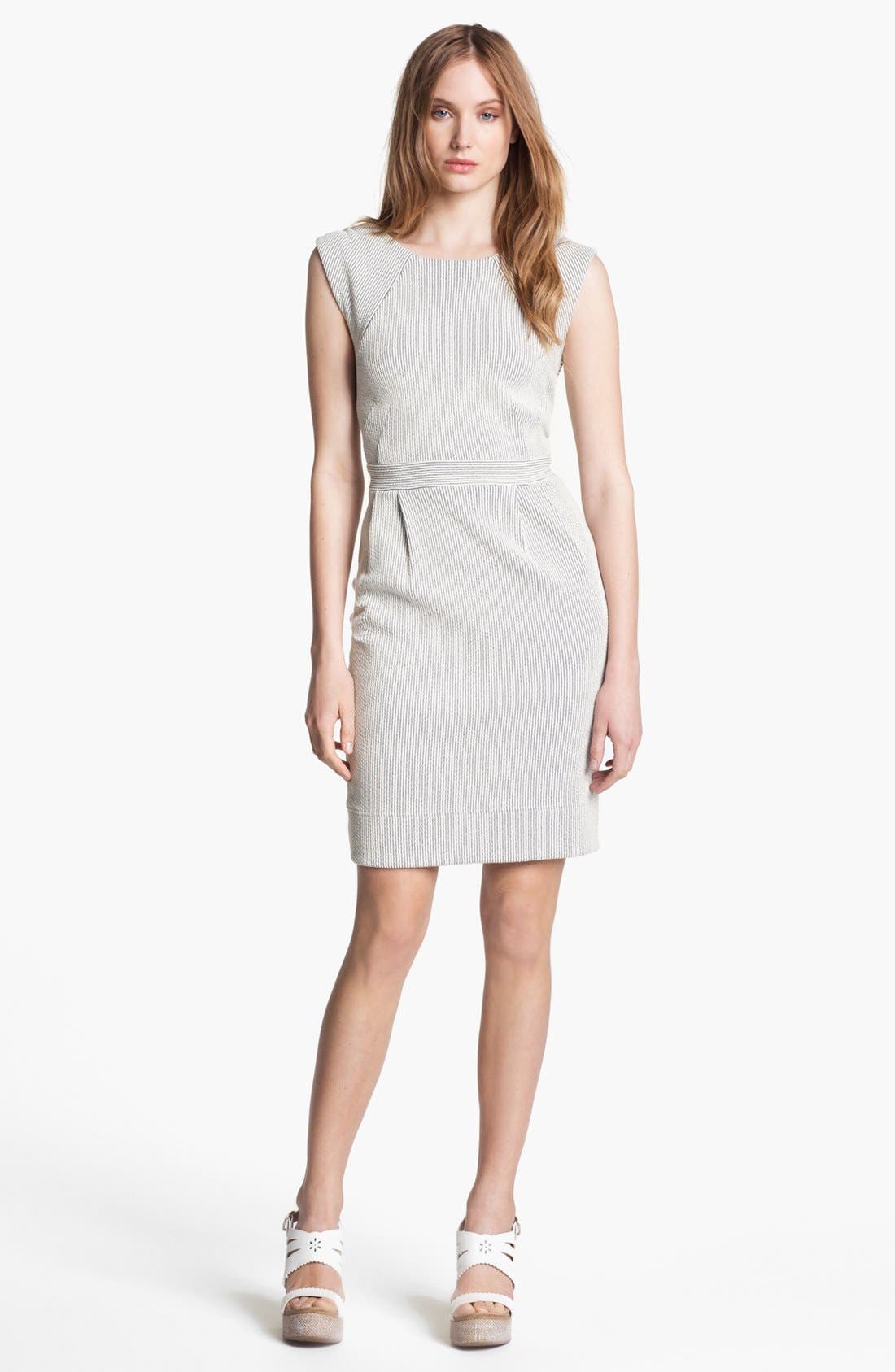 Alternate Image 1 Selected - MARC BY MARC JACOBS Cotton Sheath Dress
