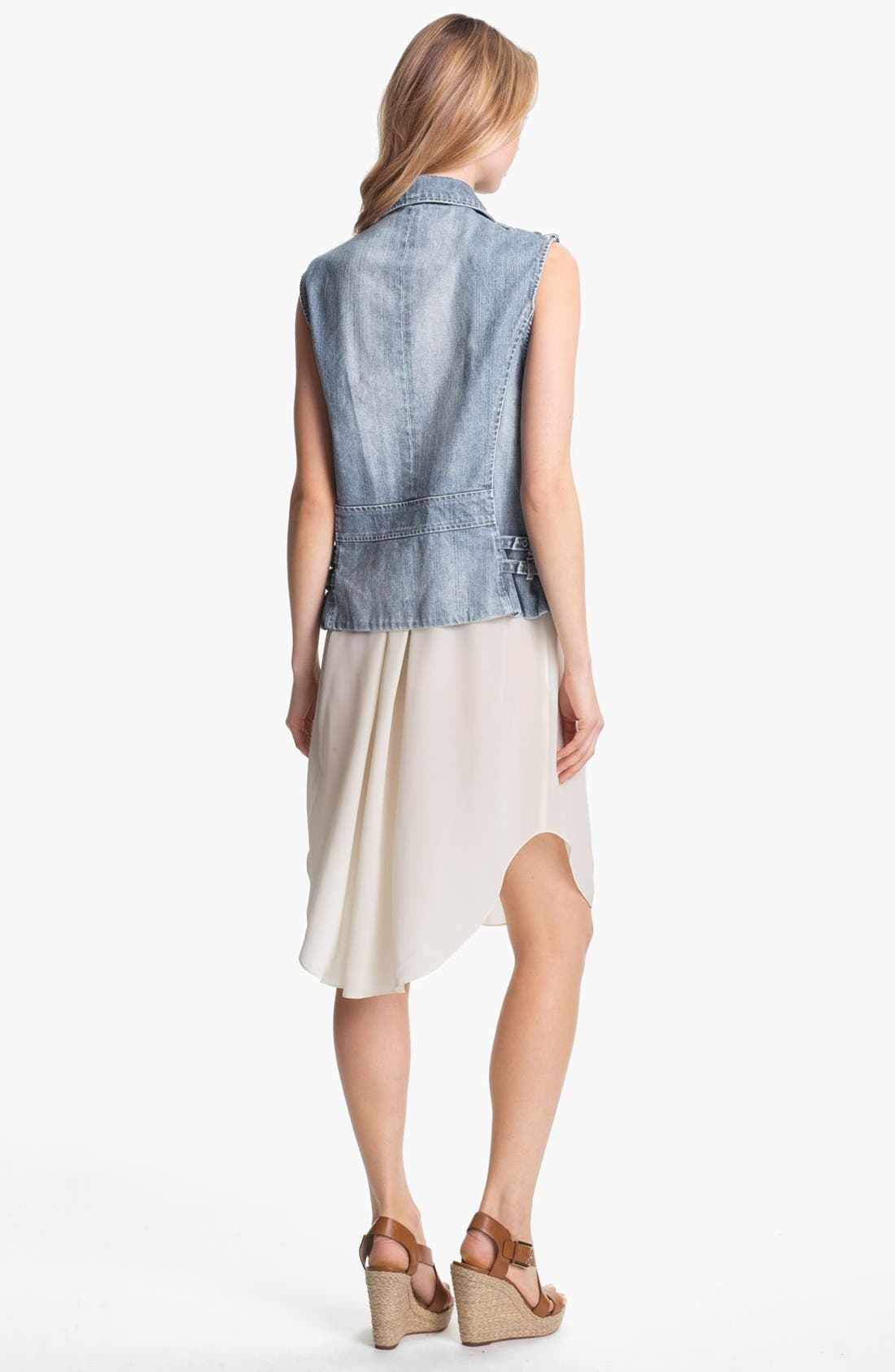 Alternate Image 2  - Rebecca Taylor Denim Vest