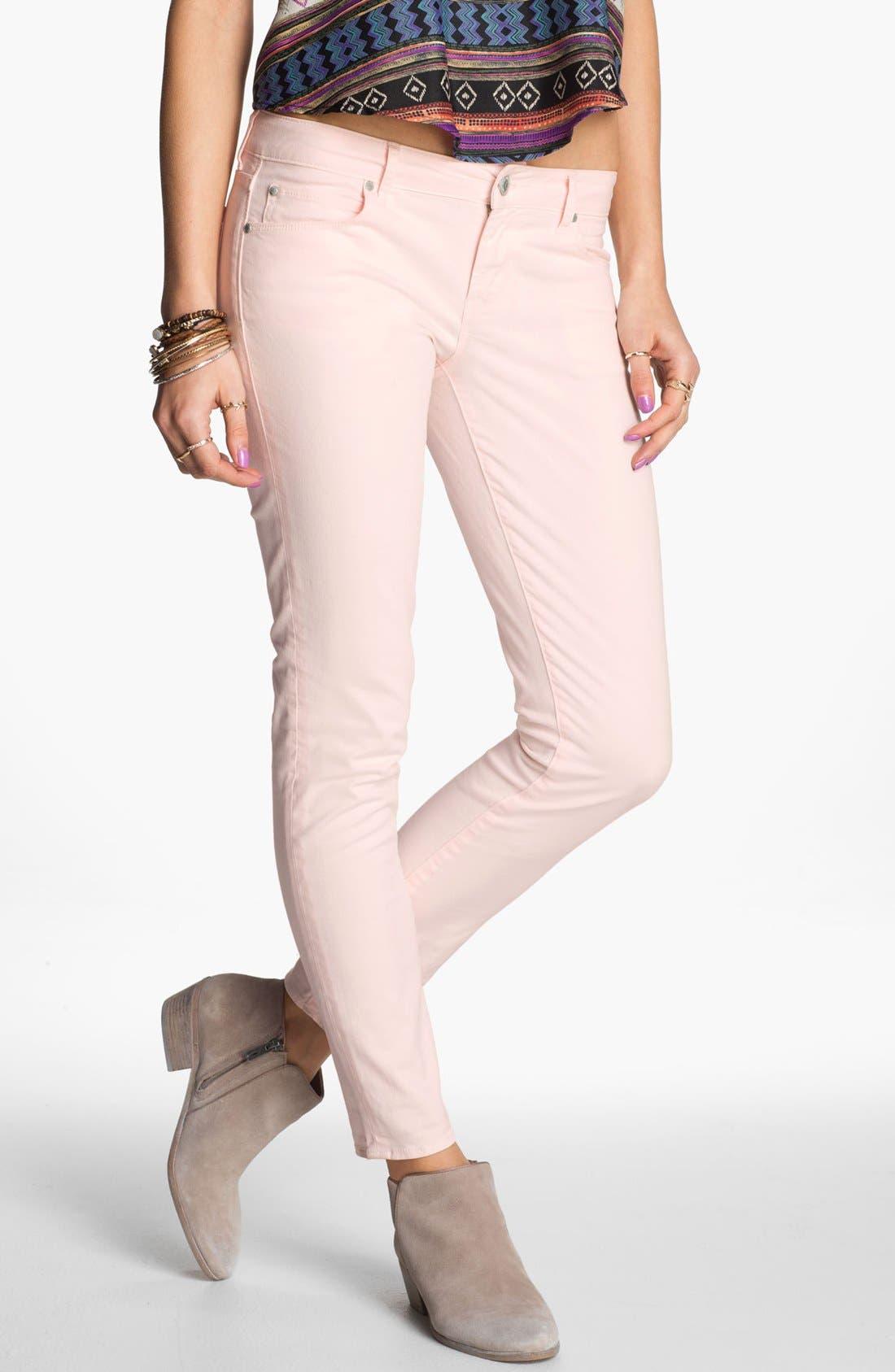 Alternate Image 1 Selected - Articles of Society 'Olivia' Skinny Pants (Juniors)