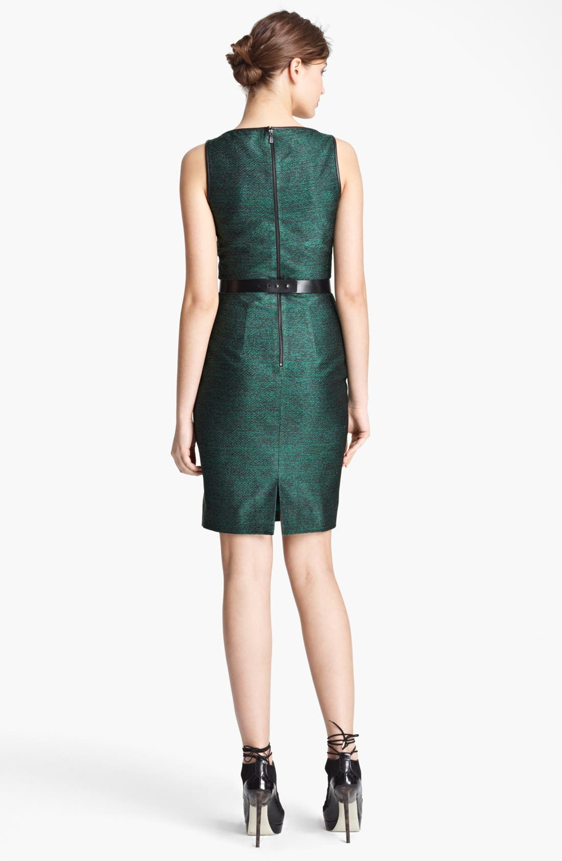 Alternate Image 2  - Jason Wu Belted Sheath Dress
