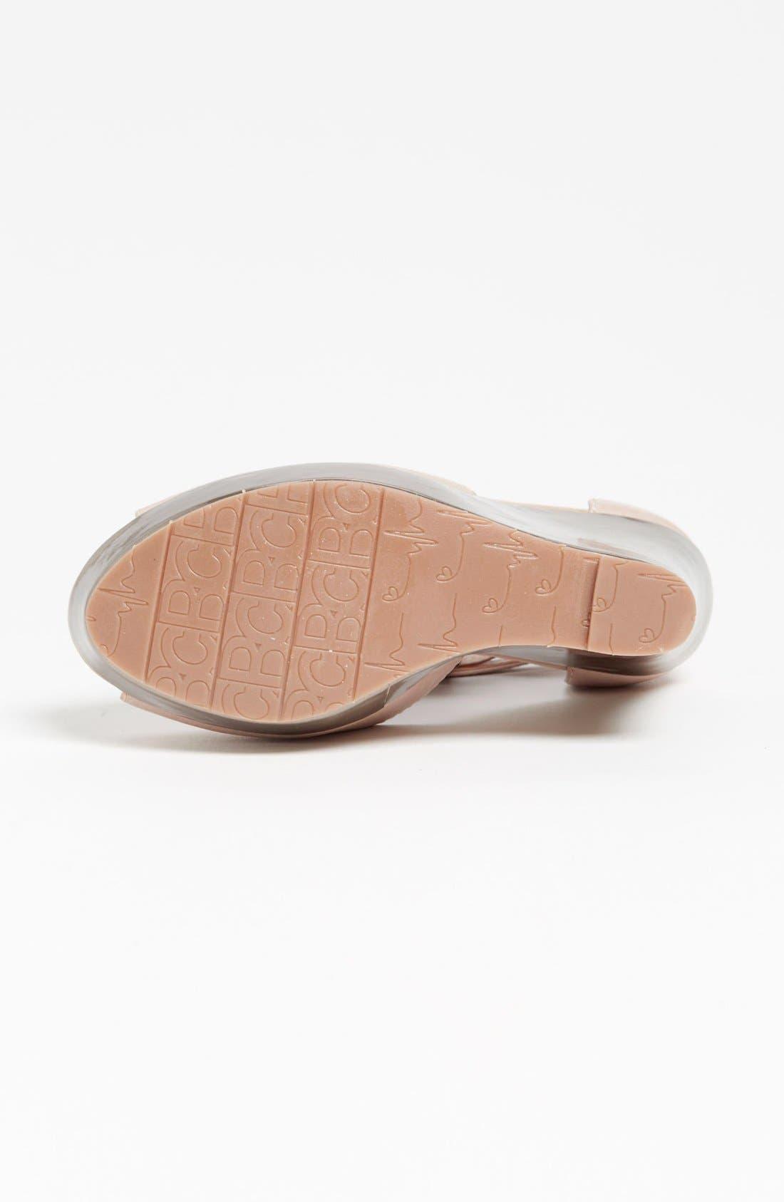 Alternate Image 4  - BC Footwear 'Lickety Split' Wedge Sandal
