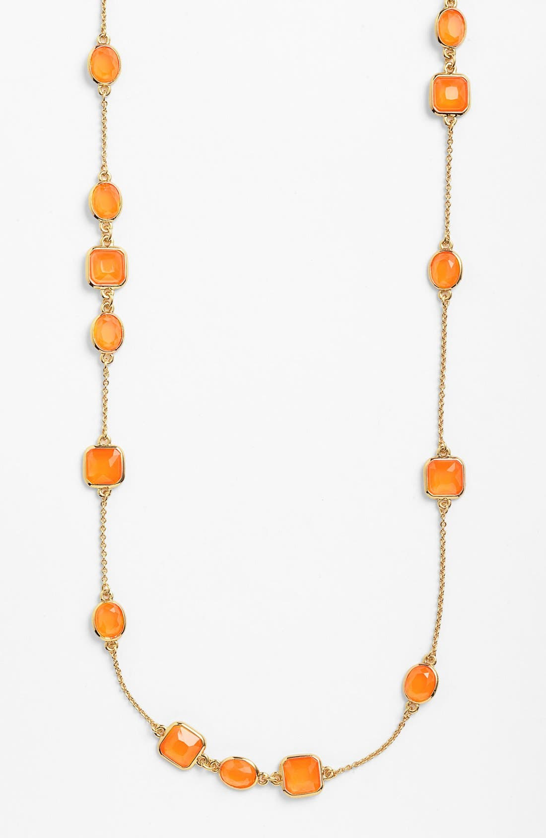 Alternate Image 1 Selected - kate spade new york 'coated confetti' extra long station necklace