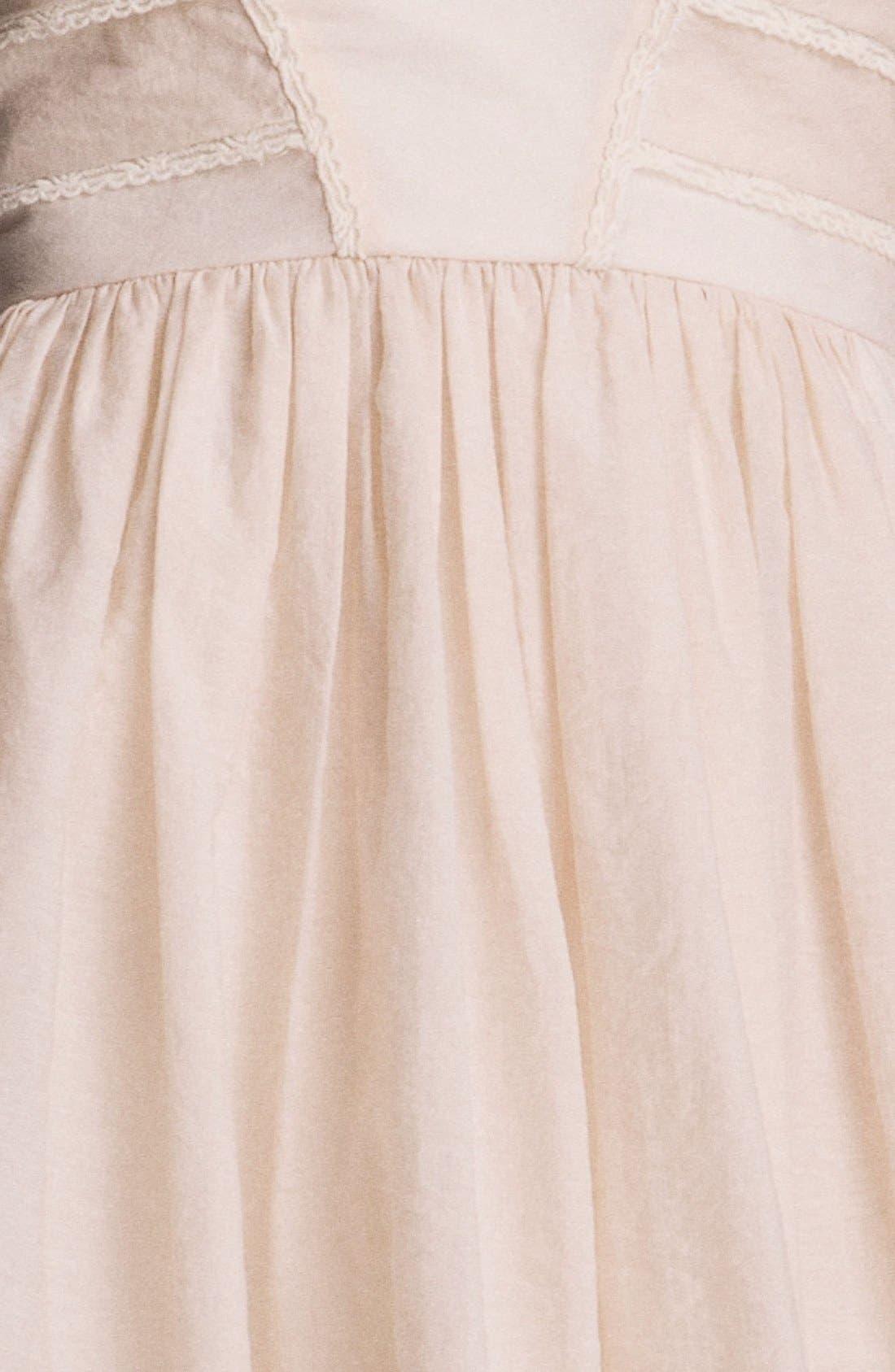 Alternate Image 3  - Jessica Simpson Lace Trim Fit & Flare Dress