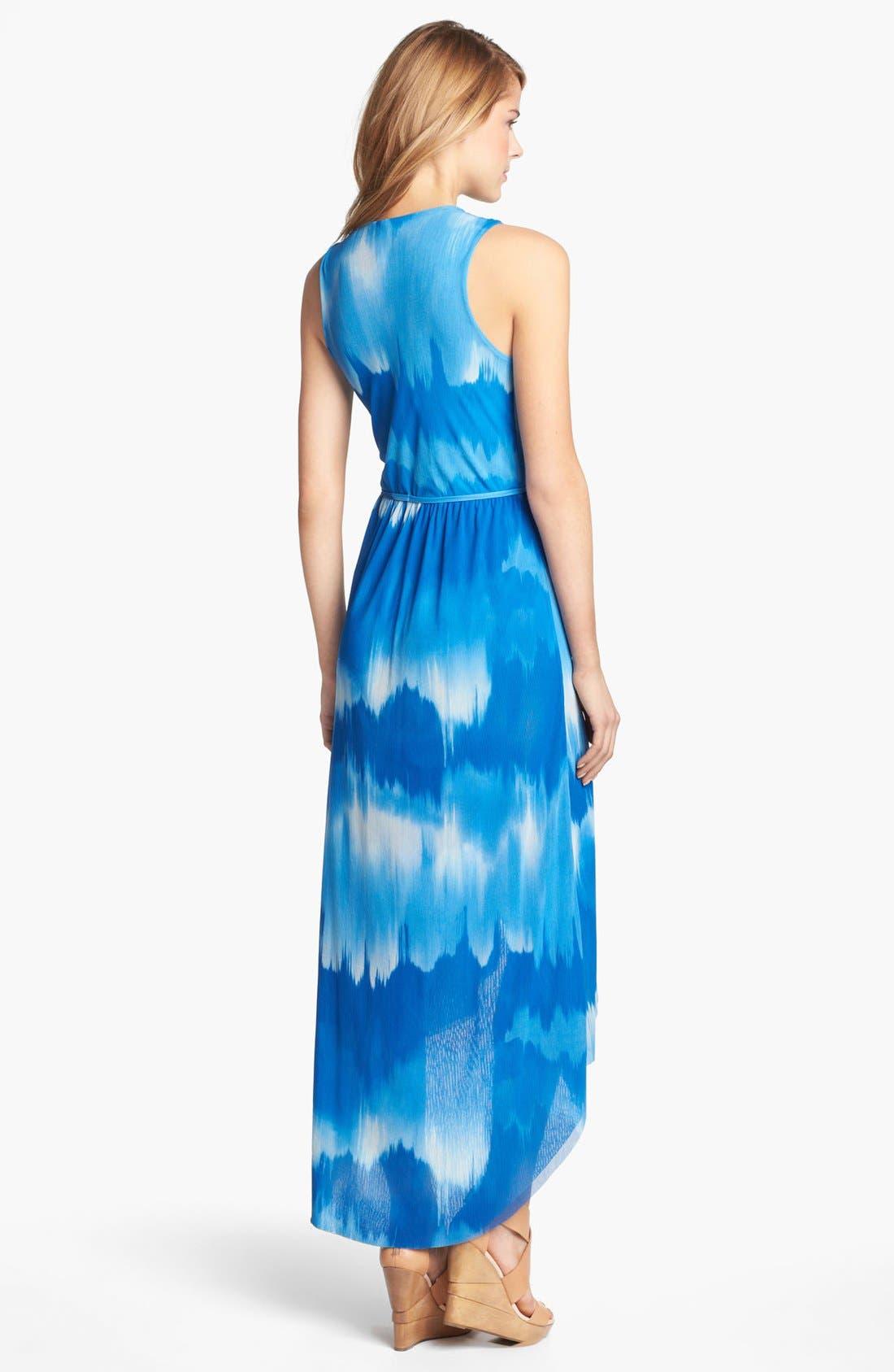 Alternate Image 2  - Sweet Pea by Stacy Frati Print Surplice Dress