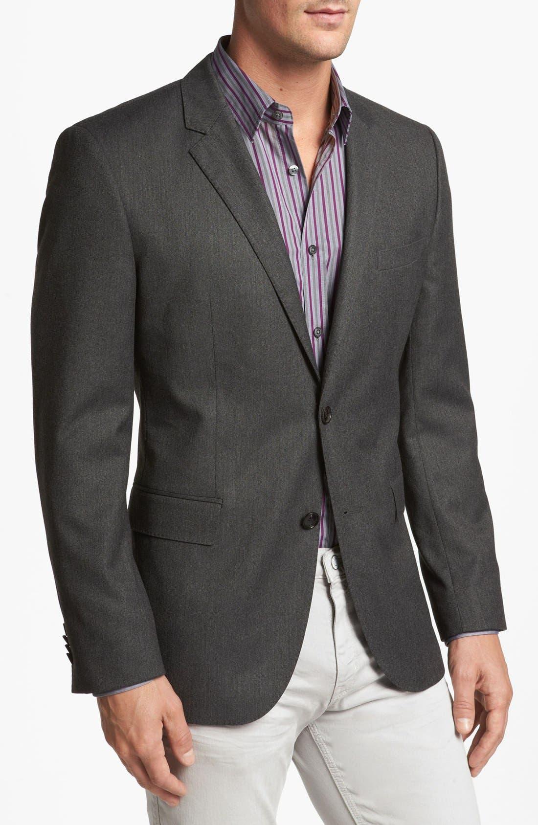 Alternate Image 1 Selected - BOSS HUGO BOSS 'Coastes' Trim Fit Sportcoat