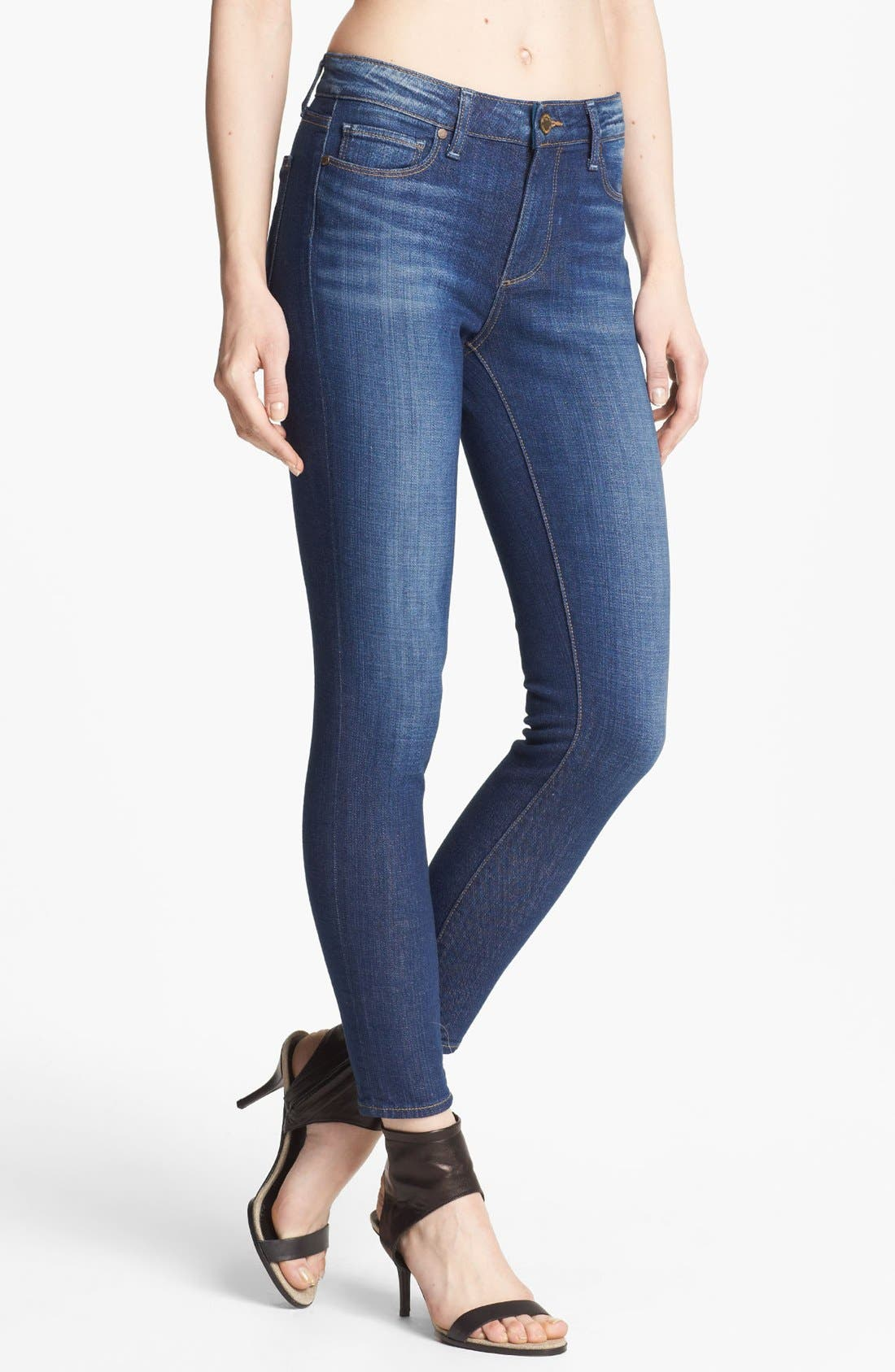 Alternate Image 1 Selected - Paige Denim 'Hoxton' Ankle Jeans (Journey)