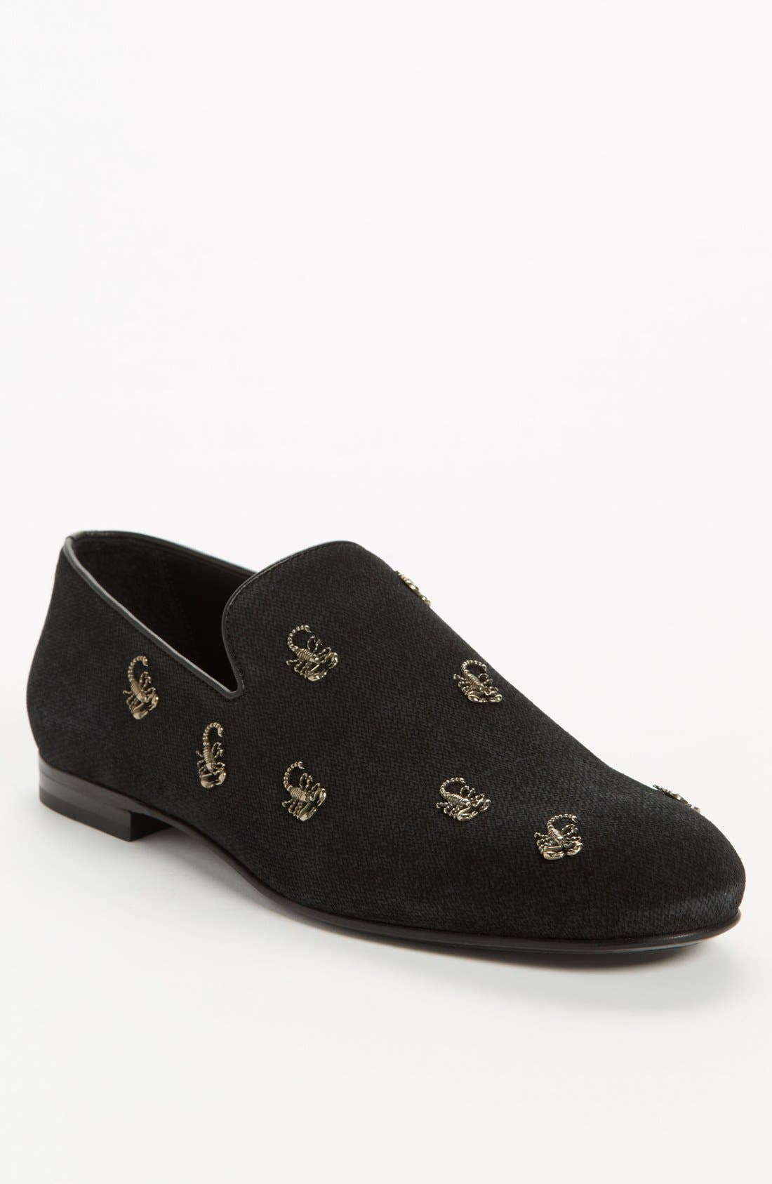 Alternate Image 1 Selected - Jimmy Choo 'Sloane' Scorpion Studded Loafer