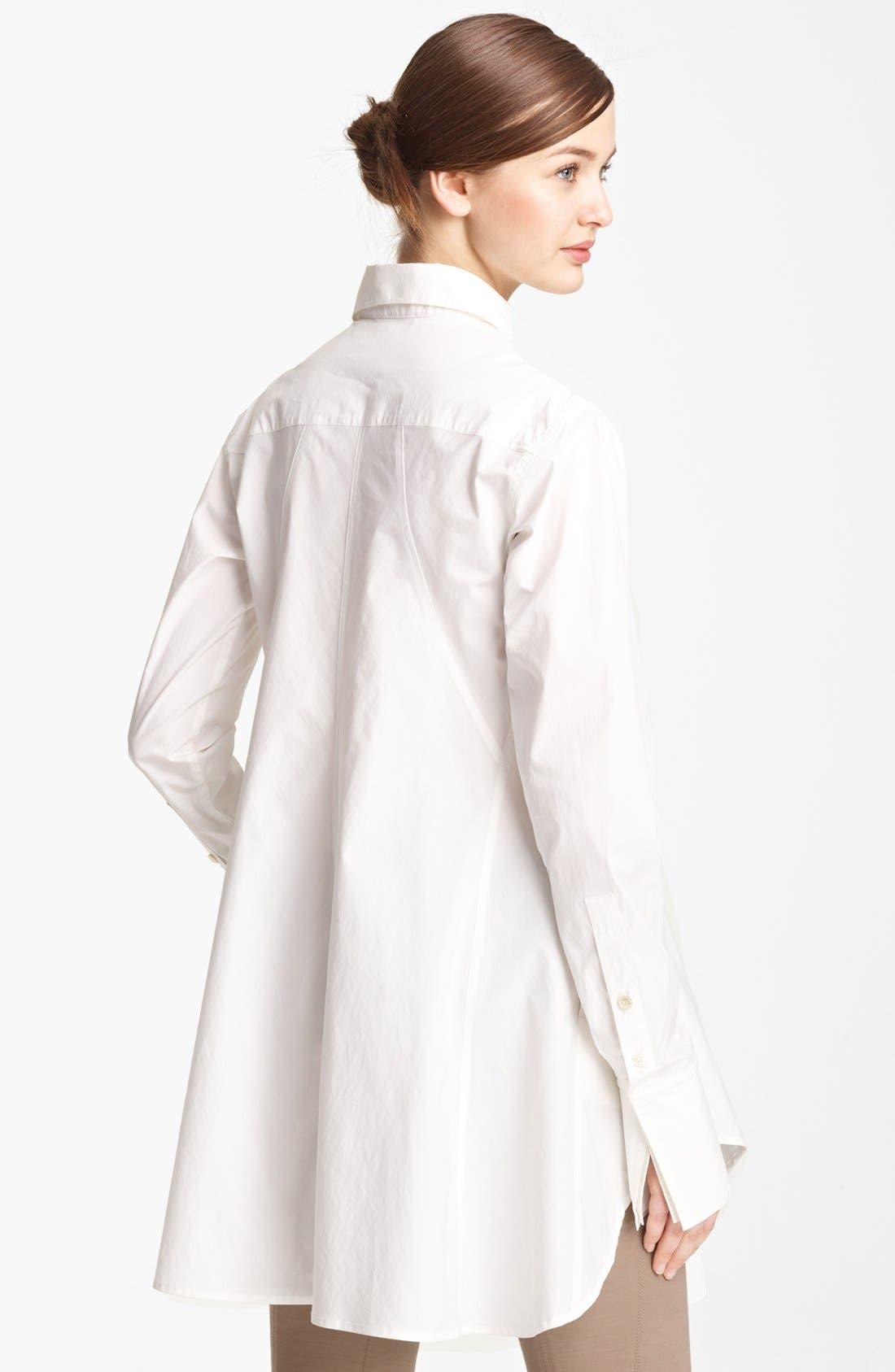 Alternate Image 3  - Donna Karan Collection Easy Stretch Cotton Shirt