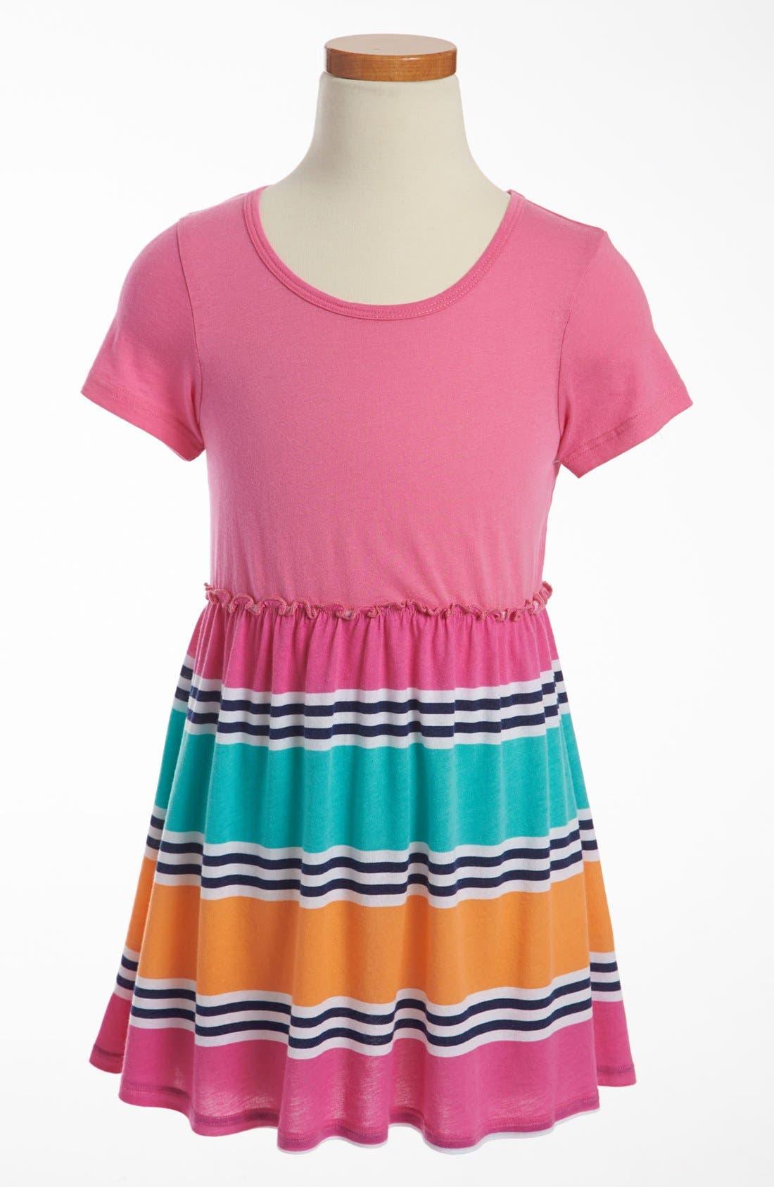 Alternate Image 1 Selected - Splendid 'Cabana Stripe' Dress (Little Girls)