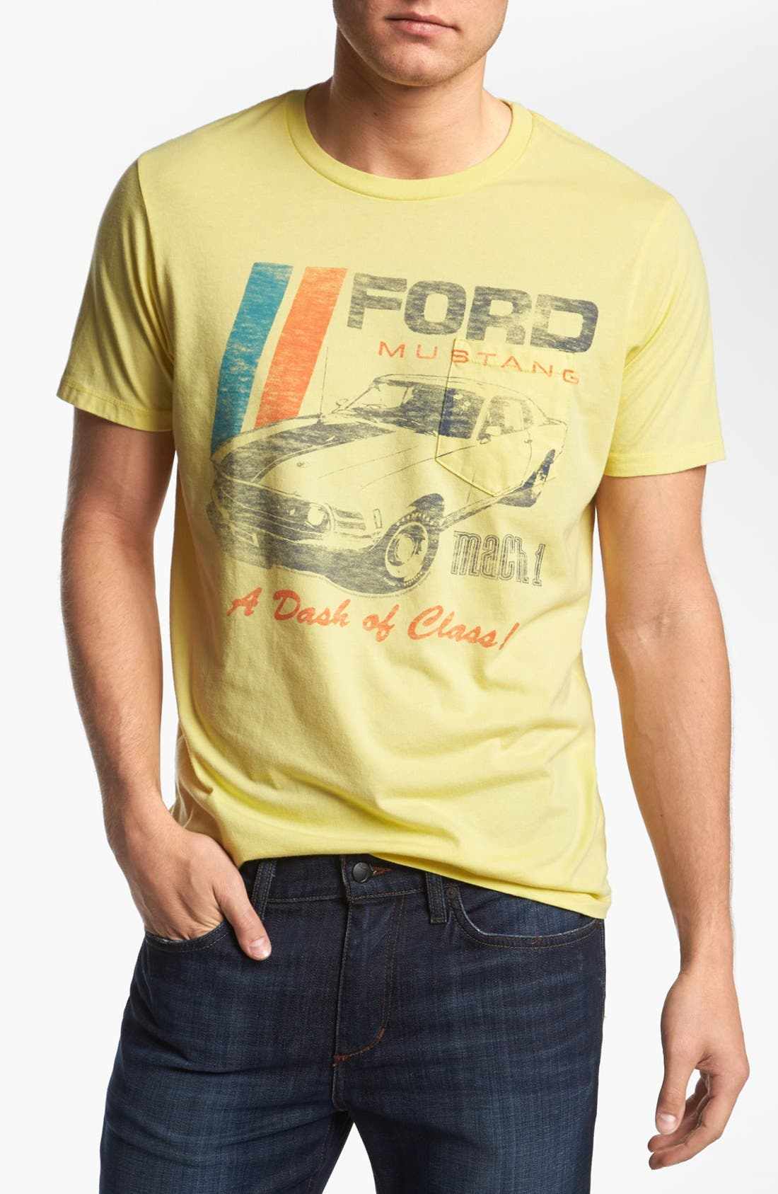 Alternate Image 1 Selected - Junk Food 'Ford Mustang' T-Shirt
