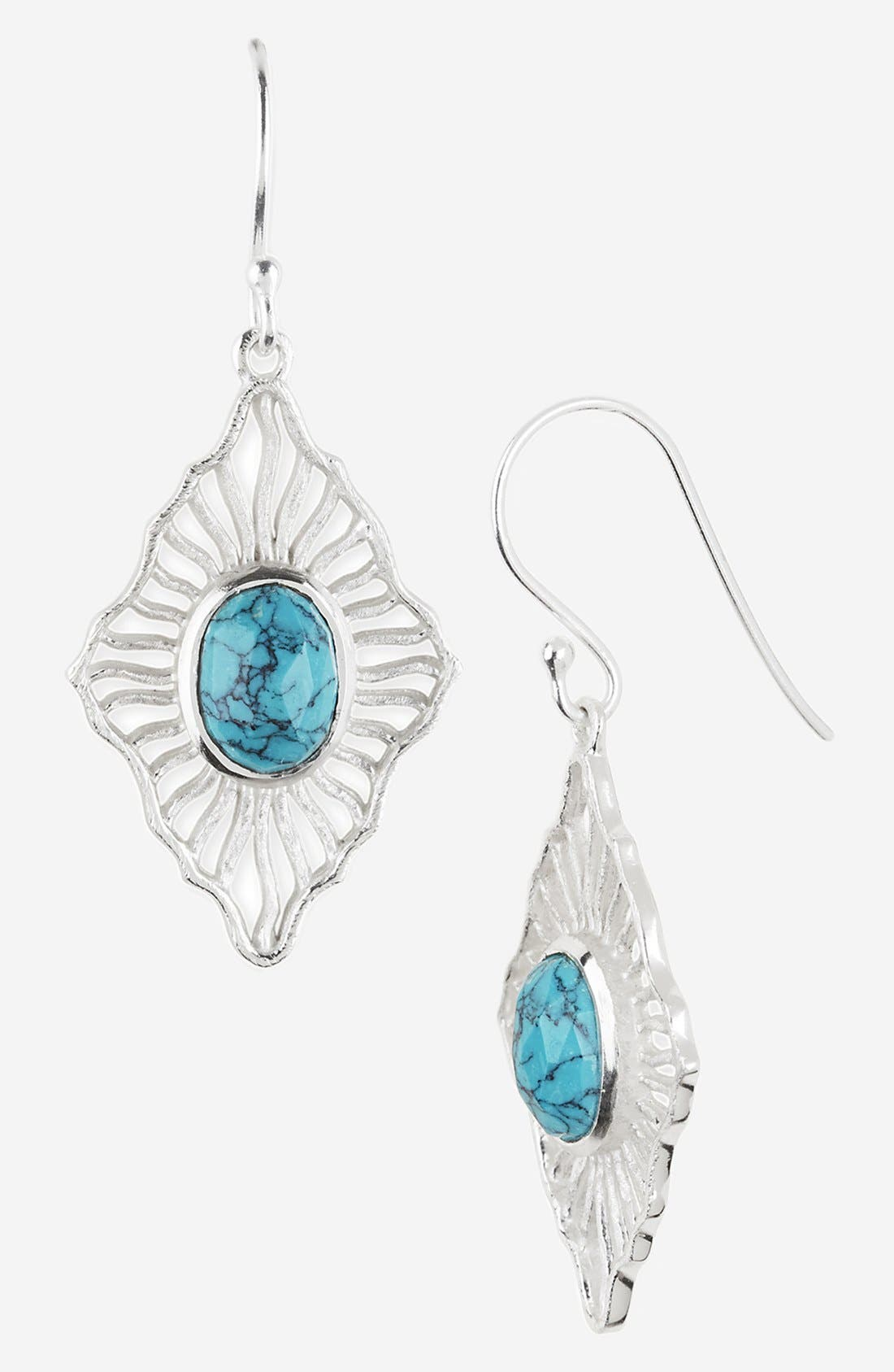 Alternate Image 1 Selected - Argento Vivo 'Valencia' Small Drop Earrings (Nordstrom Exclusive)