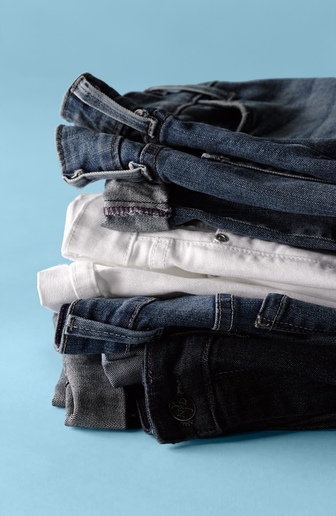 Alternate Image 5  - NYDJ 'Tanya' Cuffed Stretch Boyfriend Jeans