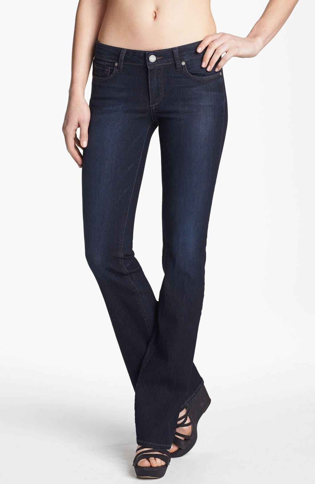 Alternate Image 1  - Paige Denim 'Skyline' Bootcut Jeans (Cheyenne)