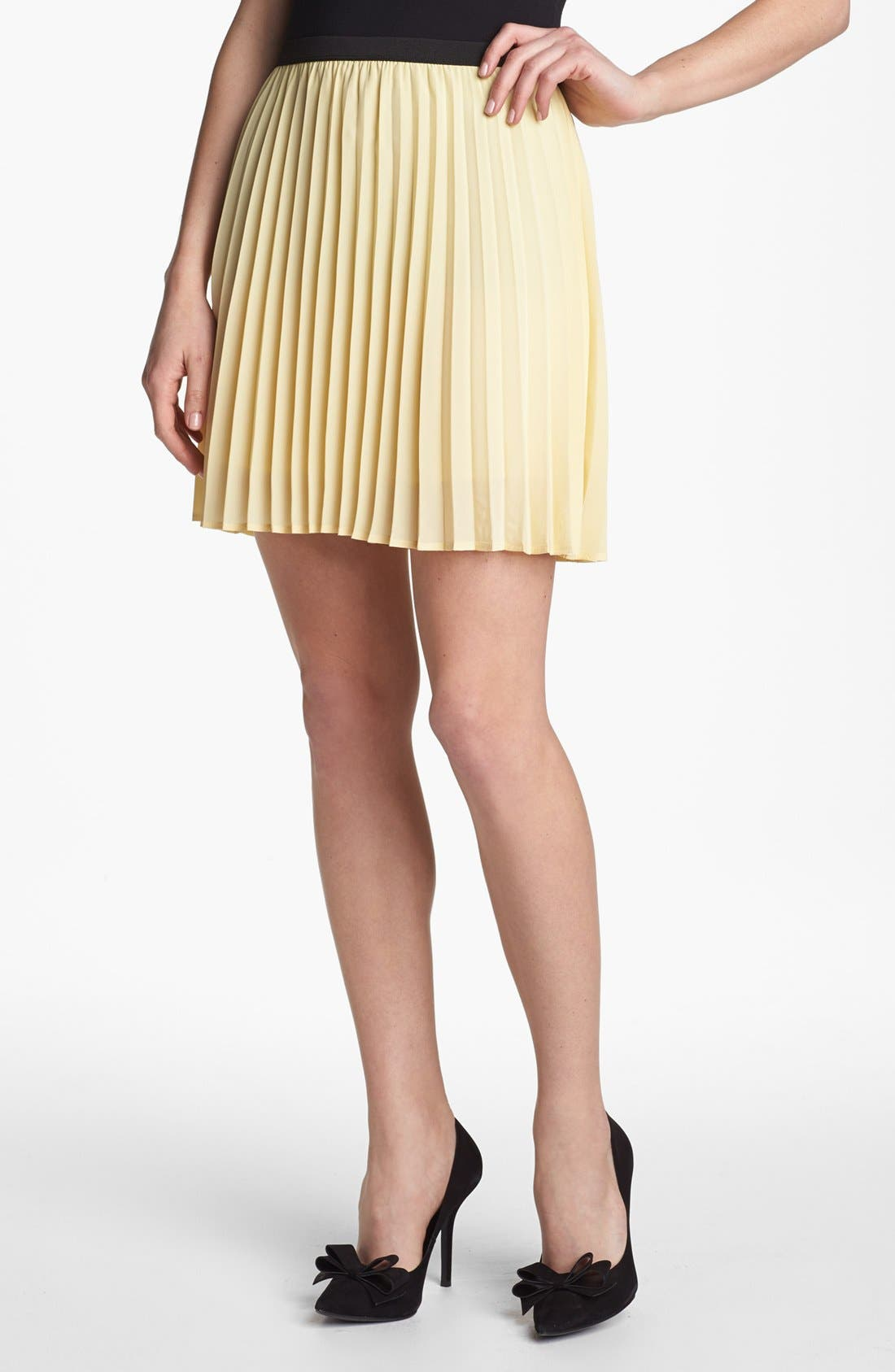 Alternate Image 1 Selected - Willow & Clay Pleated Skirt