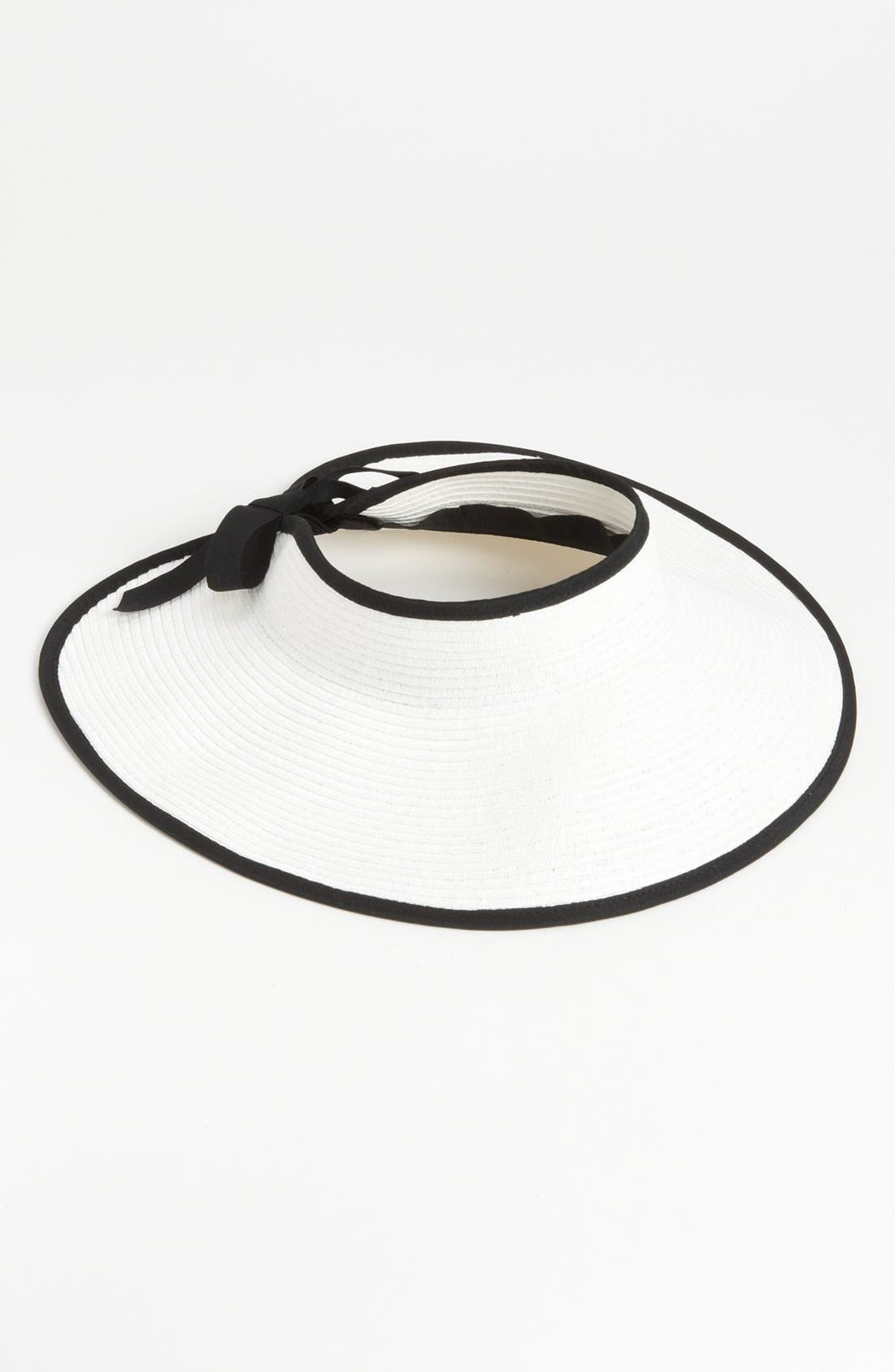 Alternate Image 1 Selected - Nordstrom Straw Visor