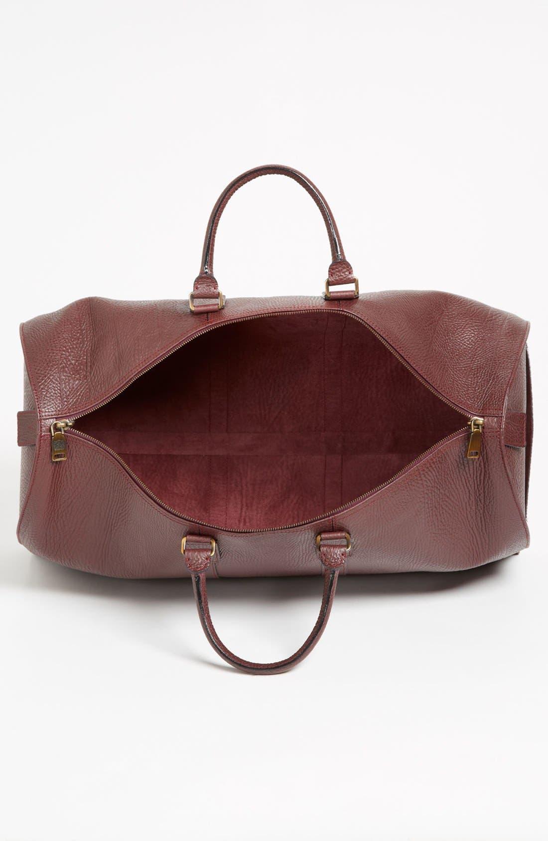 Alternate Image 3  - Bruno Magli 'Anselmo' Calfskin Duffel Bag