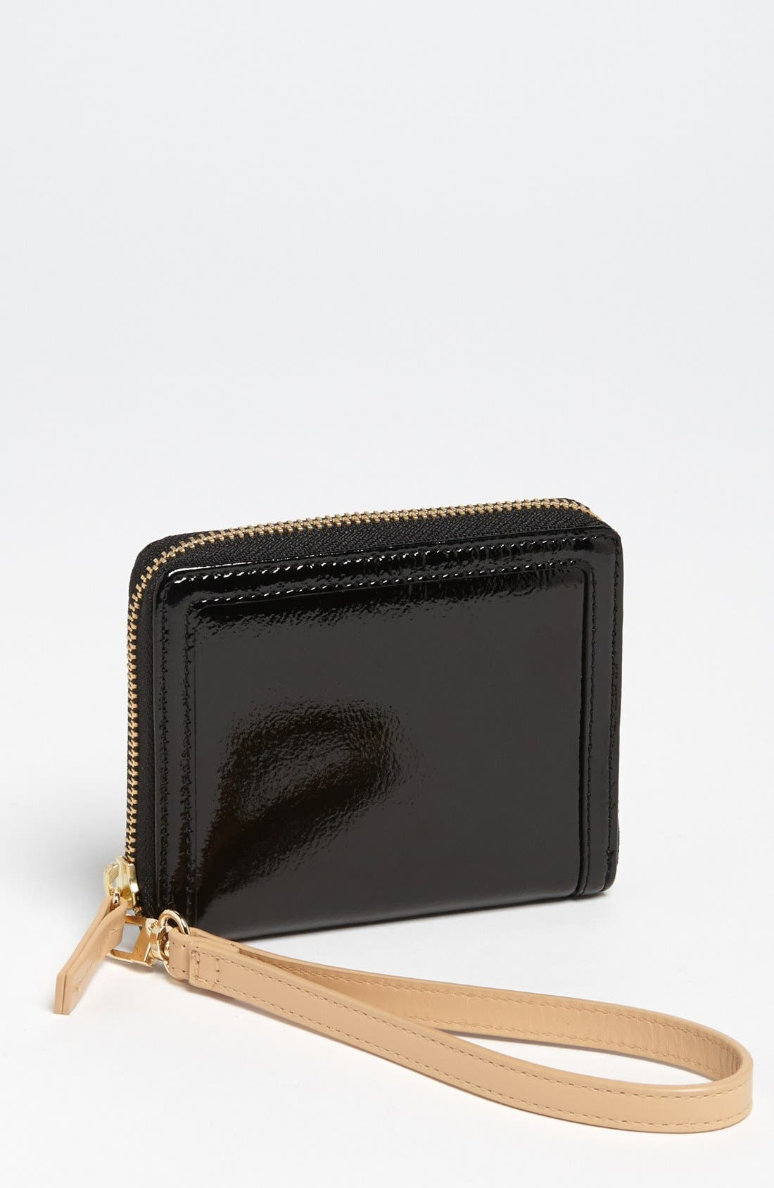 Main Image - Halogen 'Small' Leather Wristlet