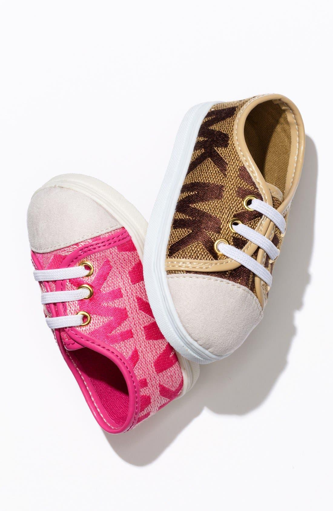 Alternate Image 5  - MICHAEL Michael Kors 'Baby Monogram' Crib Shoe (Baby)